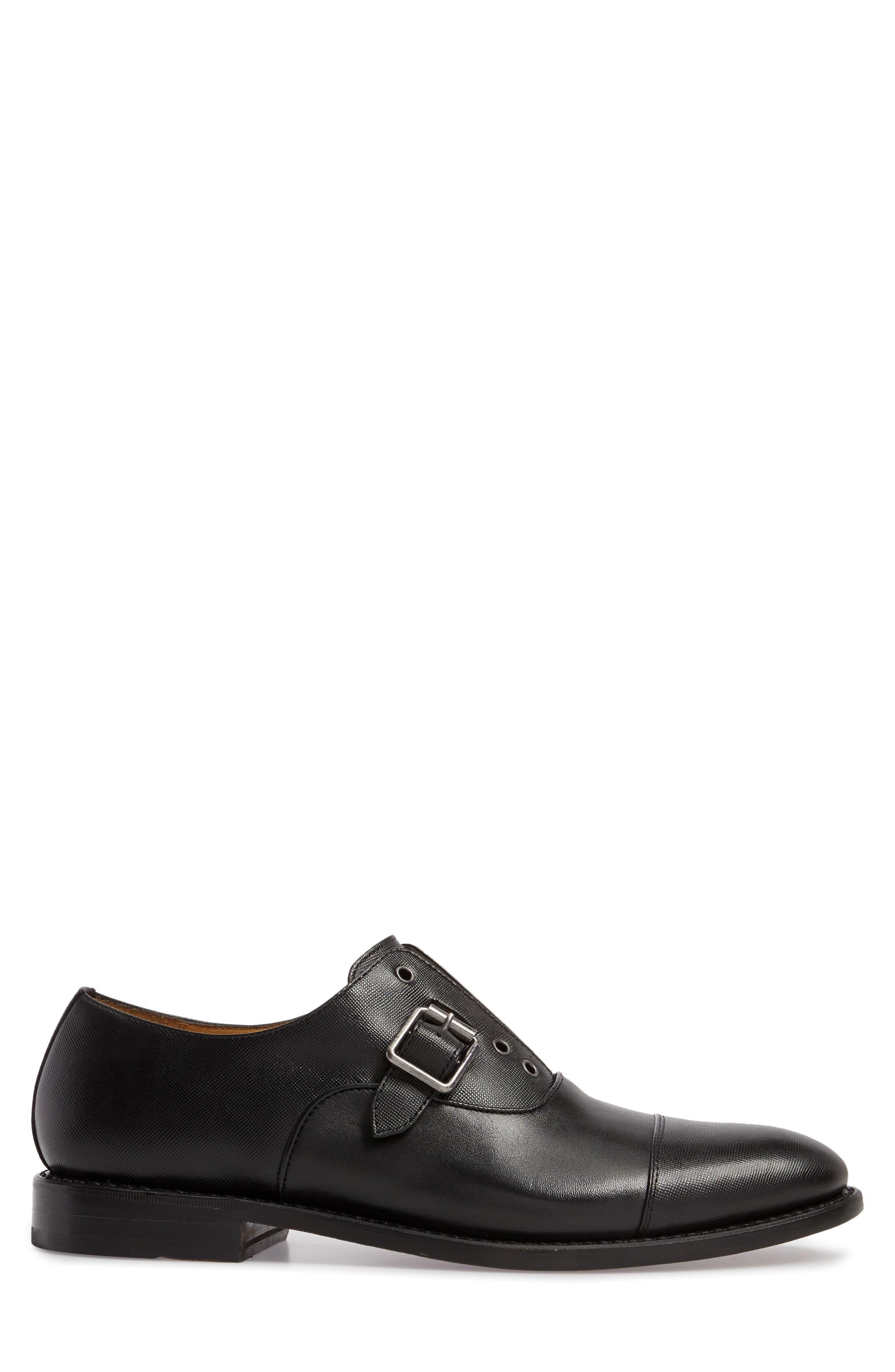 Brandon Cap Toe Oxford,                             Alternate thumbnail 3, color,                             001