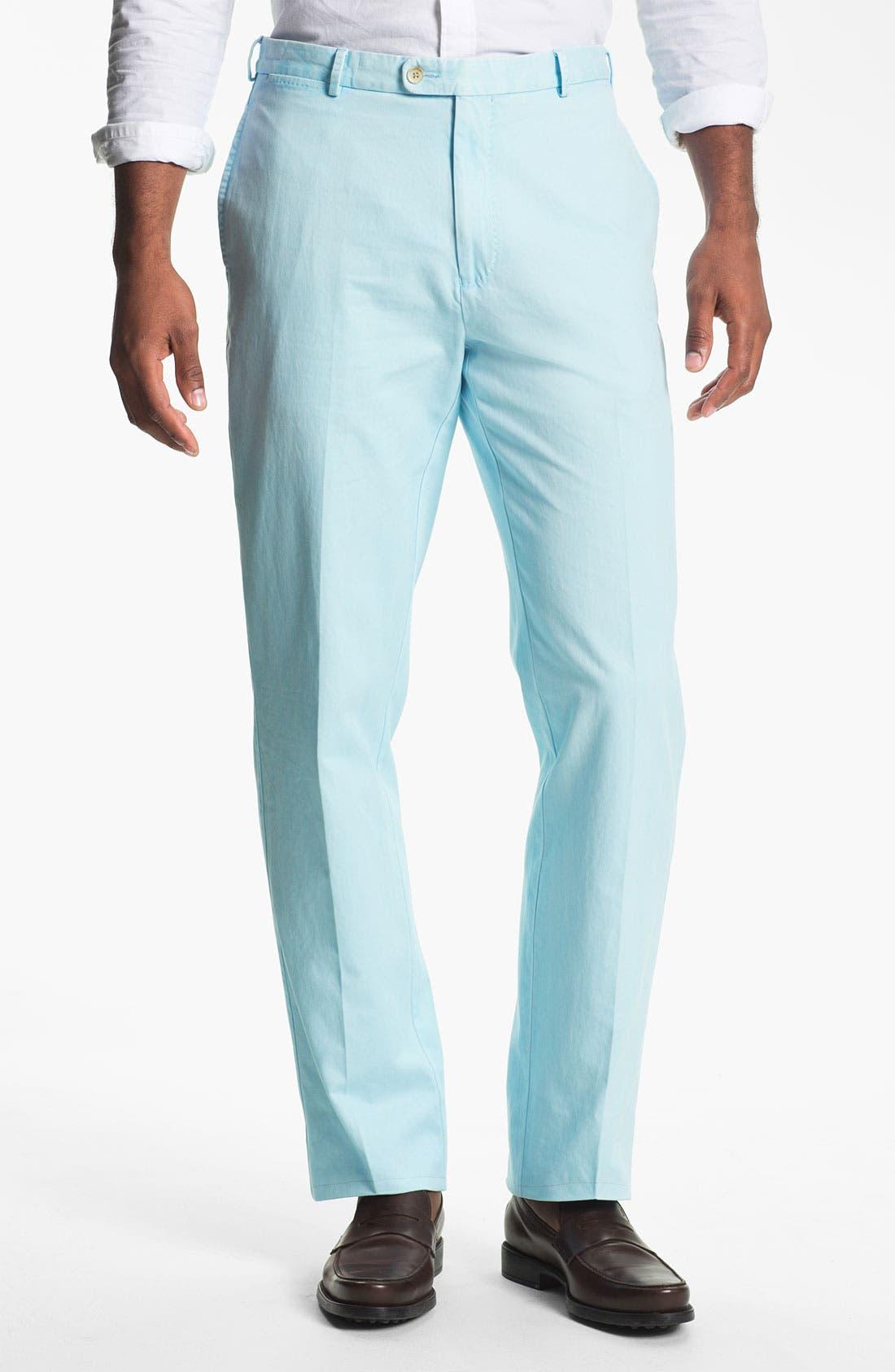 Garment Washed Twill Pants,                             Main thumbnail 13, color,
