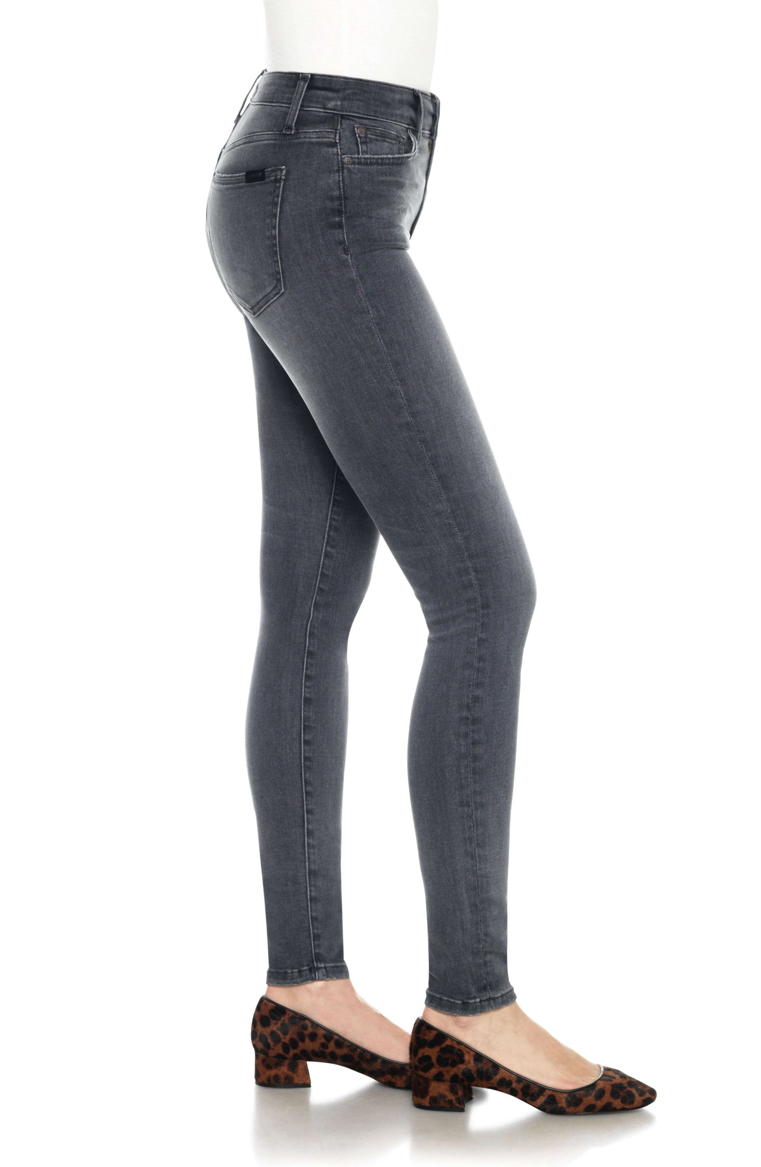 Flawless - Charlie High Waist Skinny Jeans,                             Alternate thumbnail 3, color,                             027