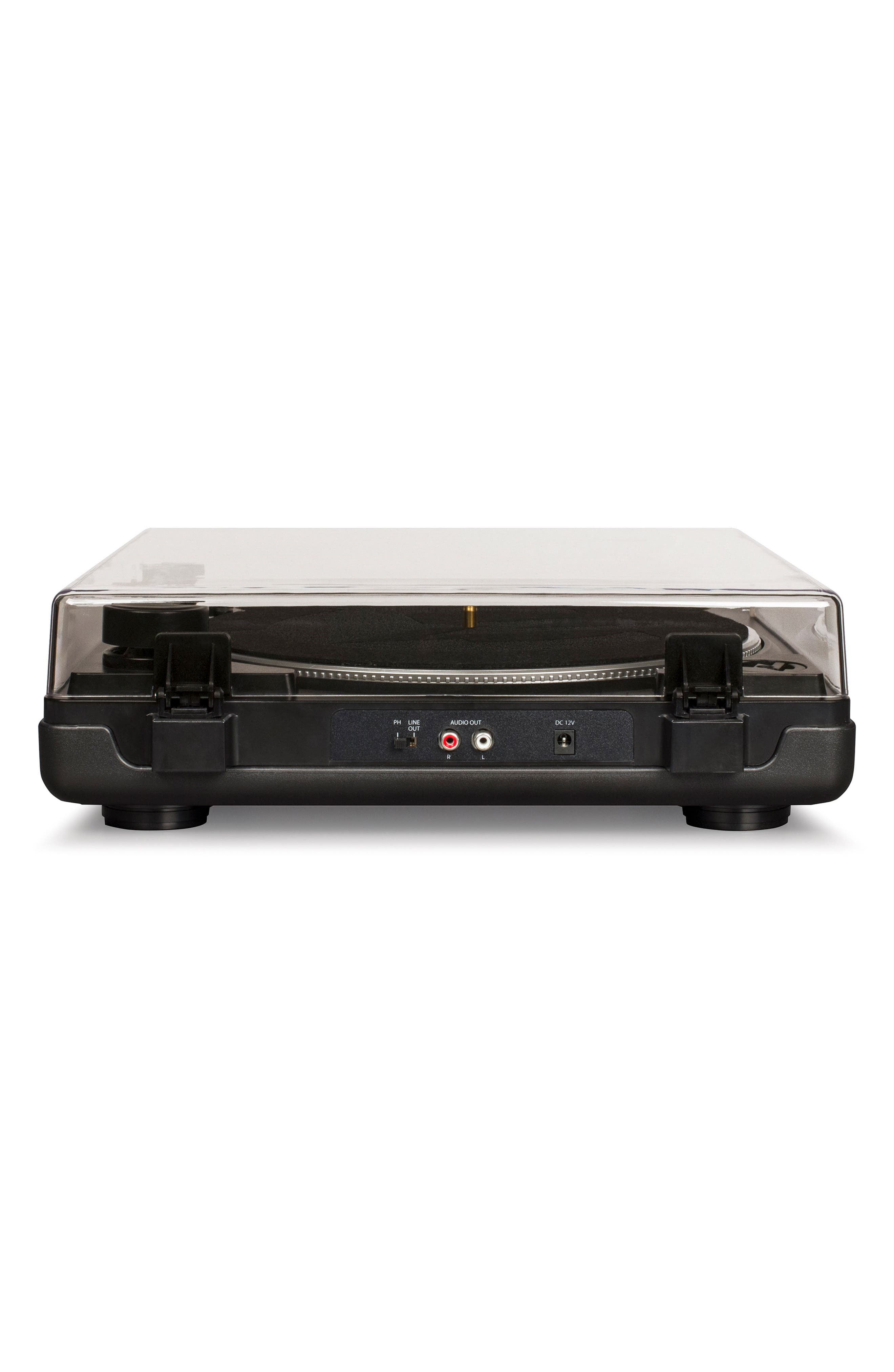 T400 Two-Speed Automatic Turntable,                             Alternate thumbnail 2, color,                             BLACK
