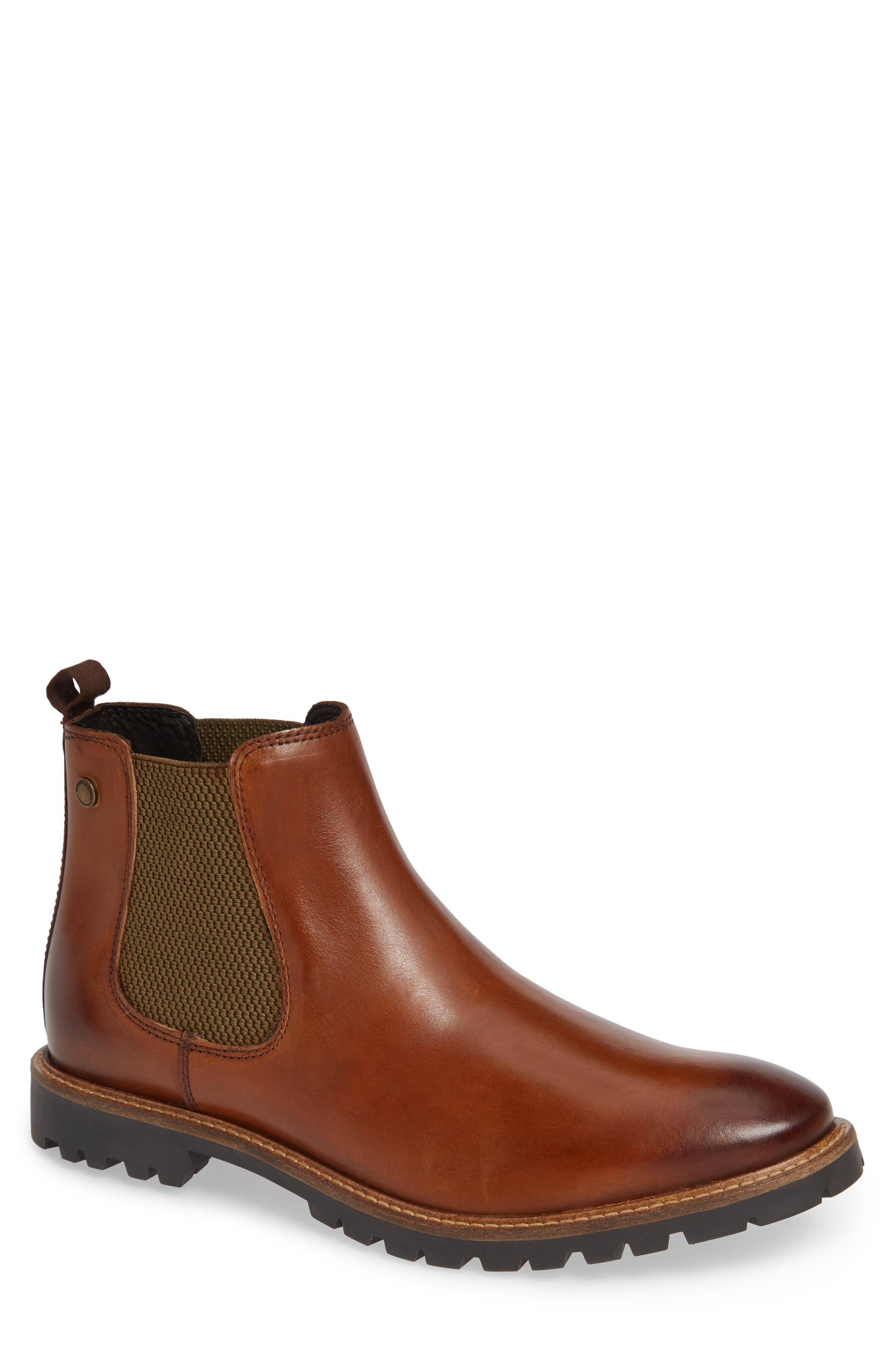Havoc Lugged Chelsea Boot,                         Main,                         color, TAN