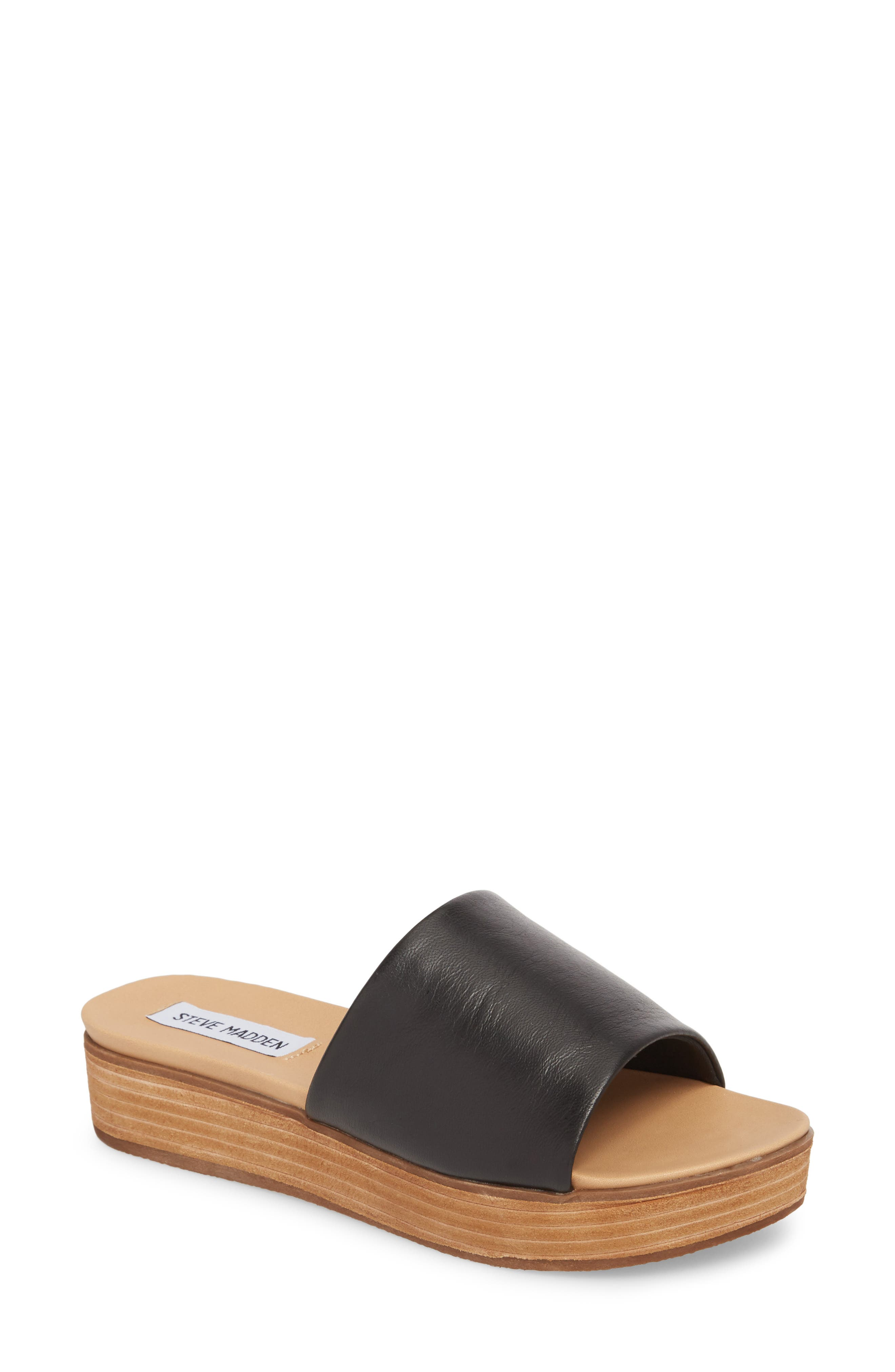 Genca Slide Sandal,                         Main,                         color, 001