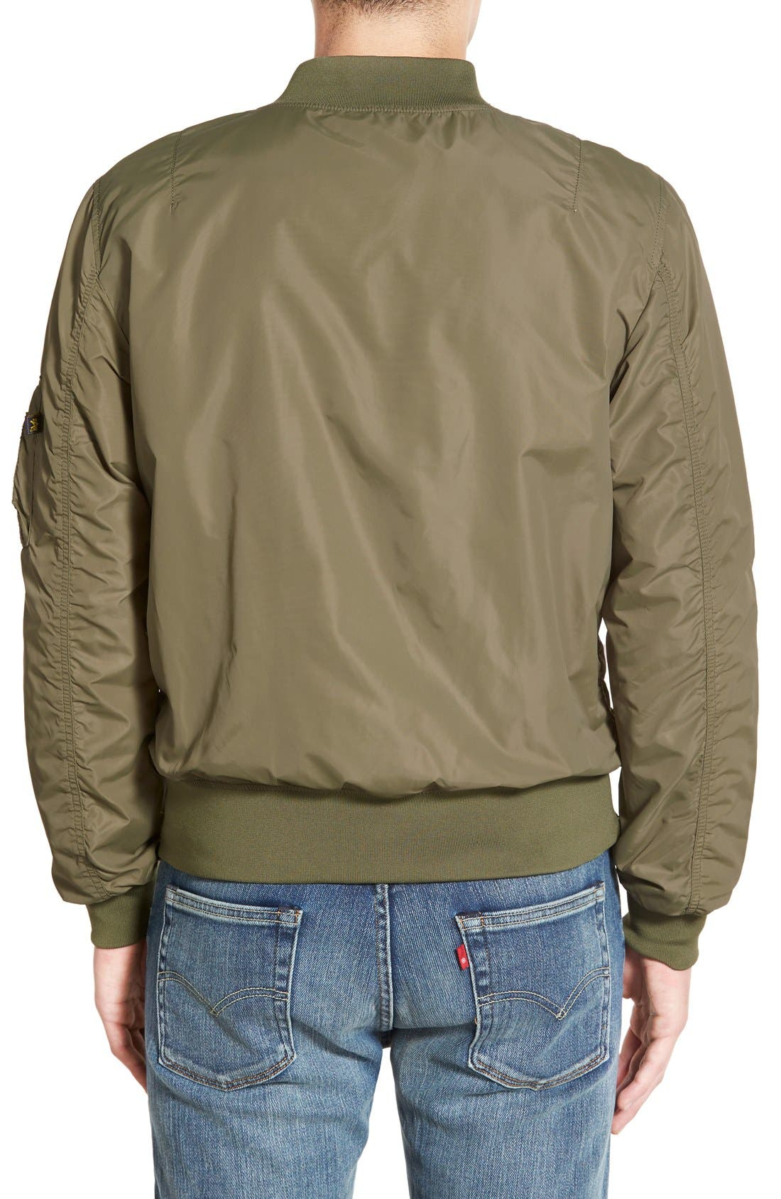 LB-2 Scout Reversible Flight Jacket,                             Alternate thumbnail 14, color,