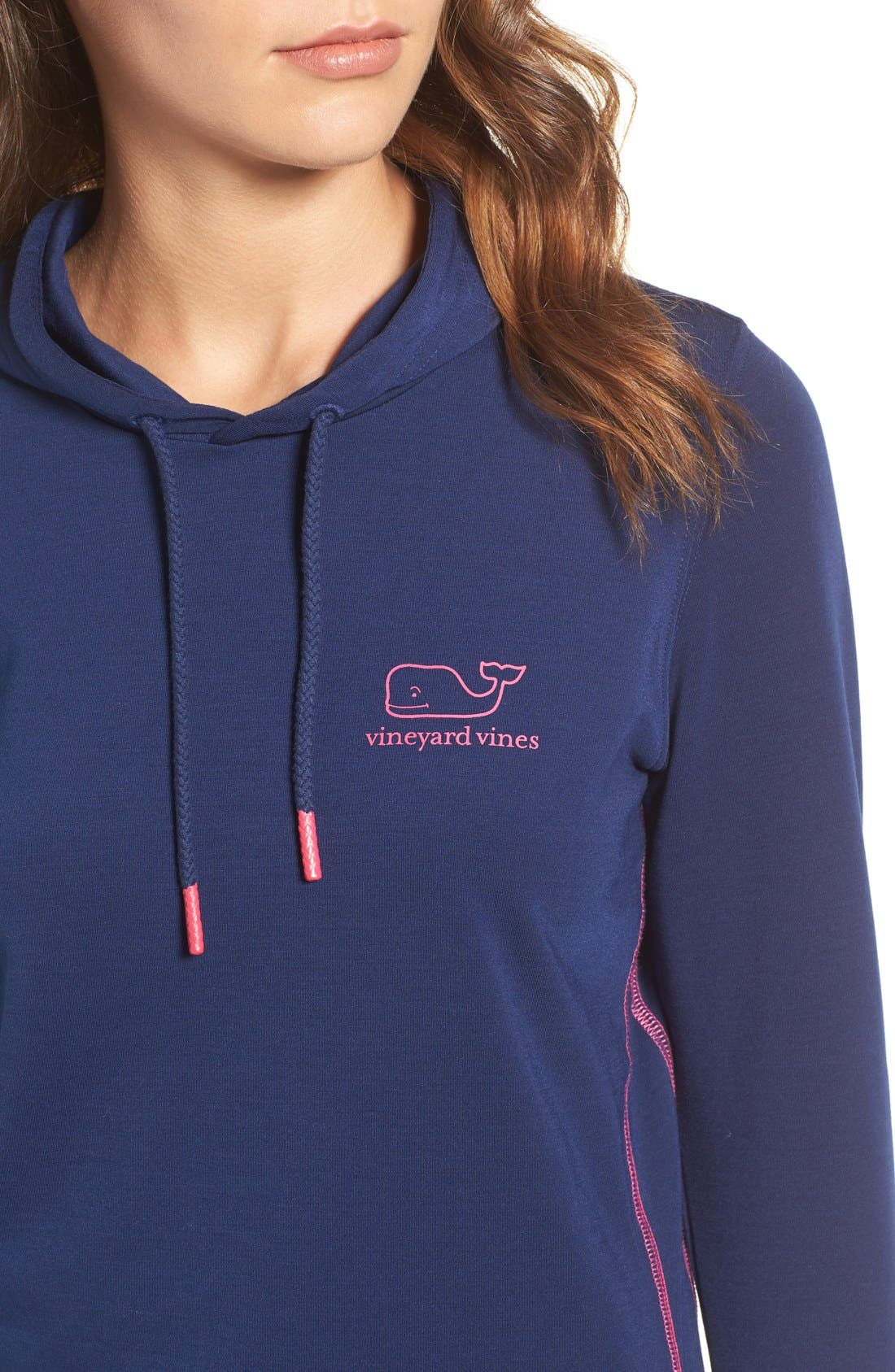 Whale Tail Hooded Tee,                             Alternate thumbnail 4, color,                             400