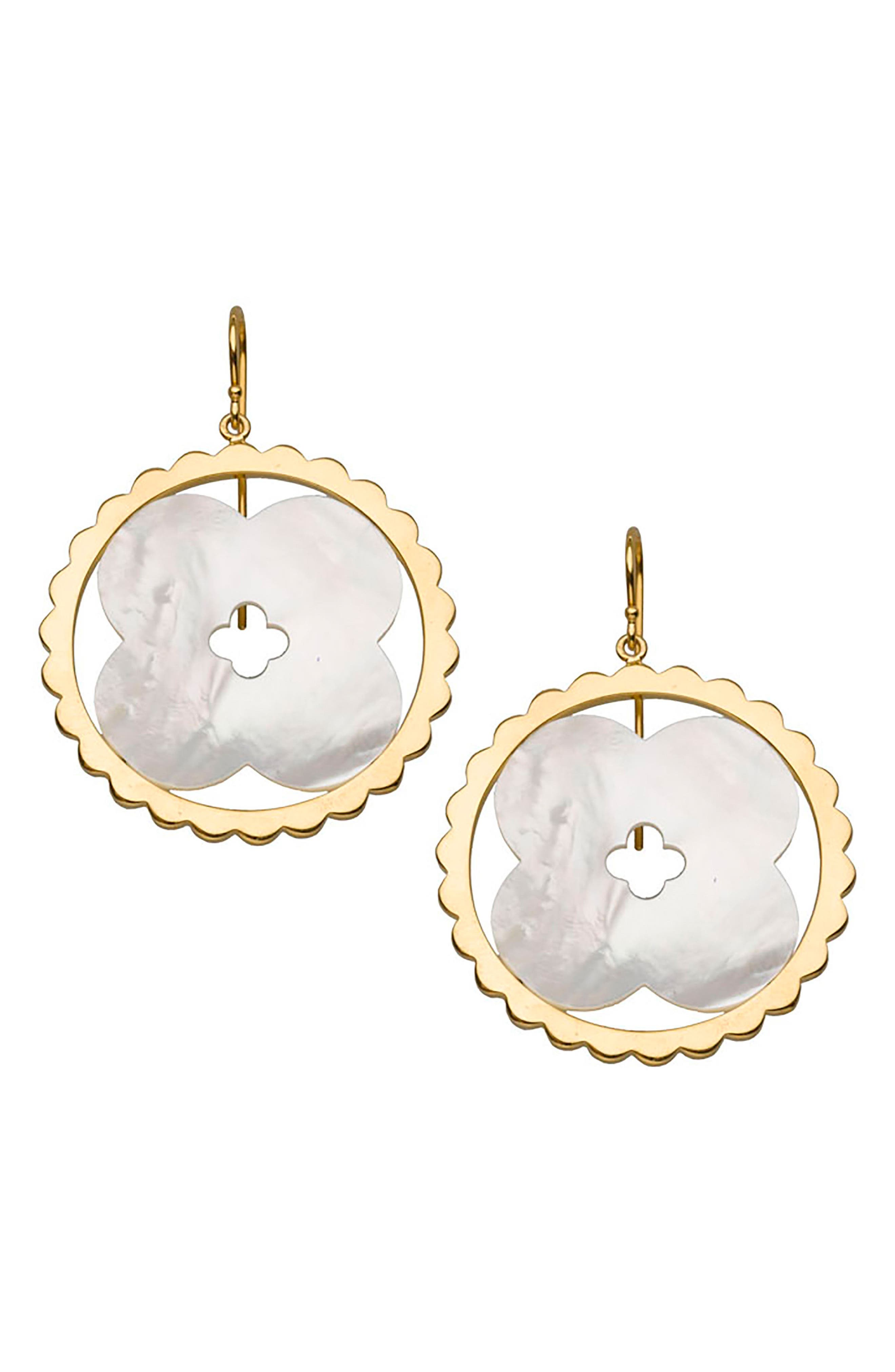 Lily Drop Earrings,                         Main,                         color,