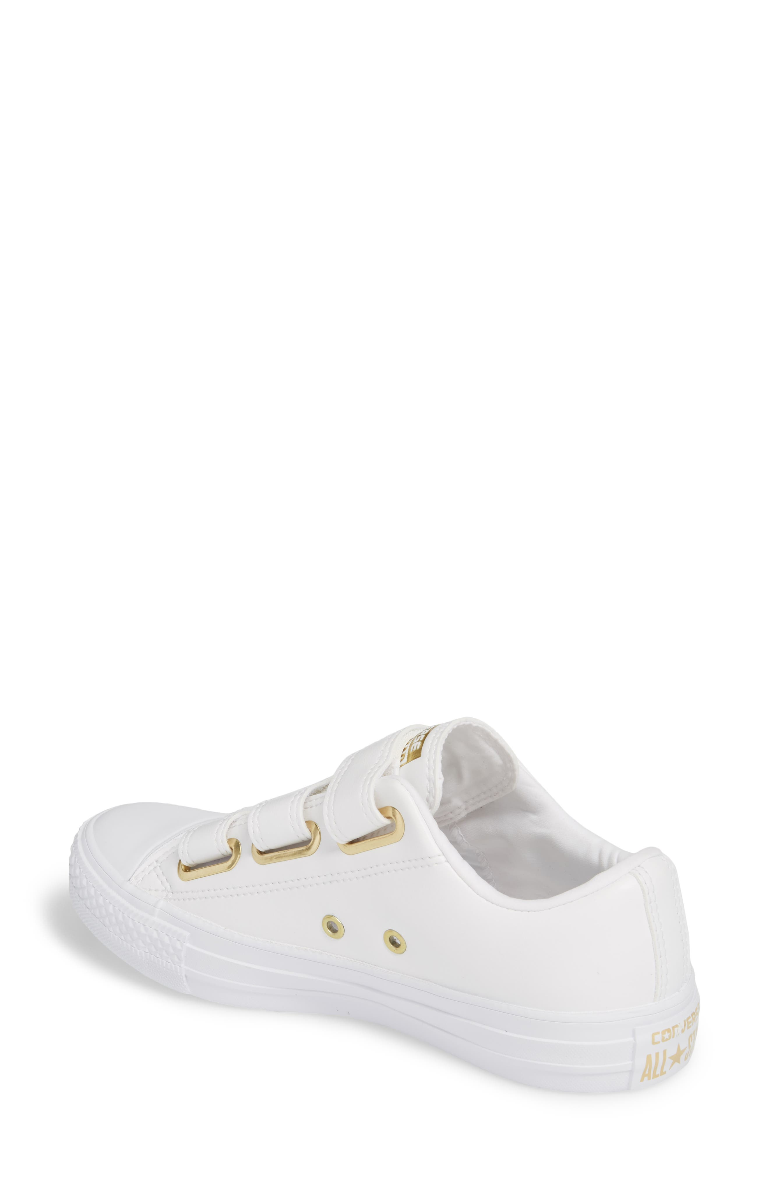 Chuck Taylor<sup>®</sup> All Star<sup>®</sup> 3V Low Top Sneaker,                             Alternate thumbnail 4, color,