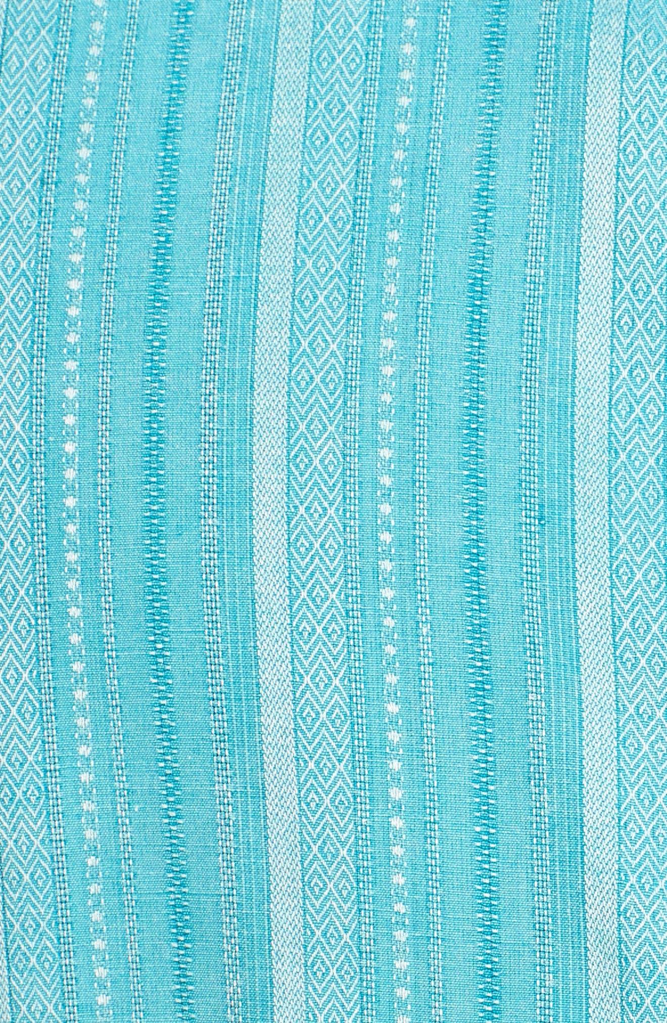 Zaldera Stripe Silk Camp Shirt,                             Alternate thumbnail 20, color,
