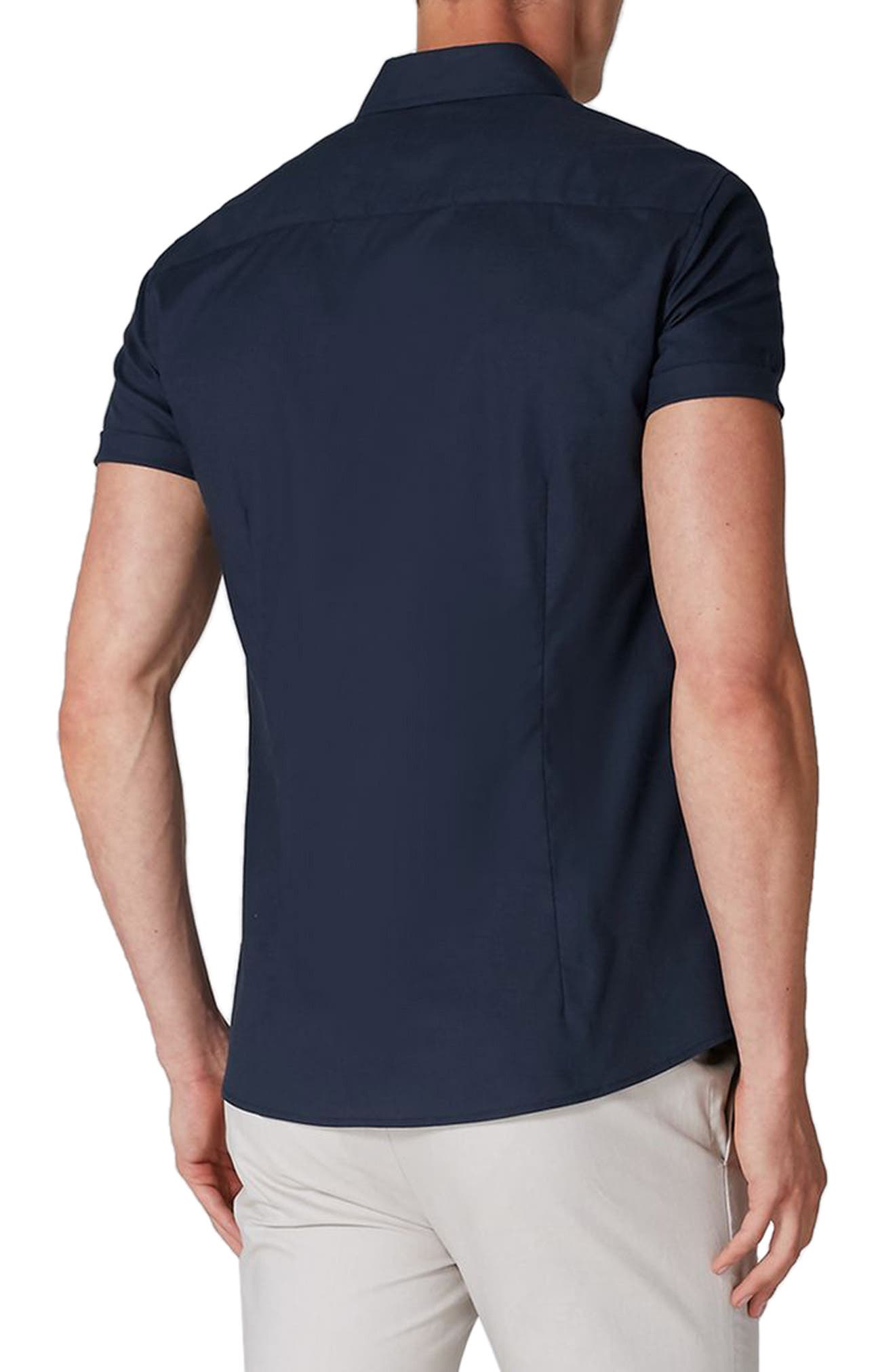 Muscle Fit Woven Shirt,                             Alternate thumbnail 2, color,                             410