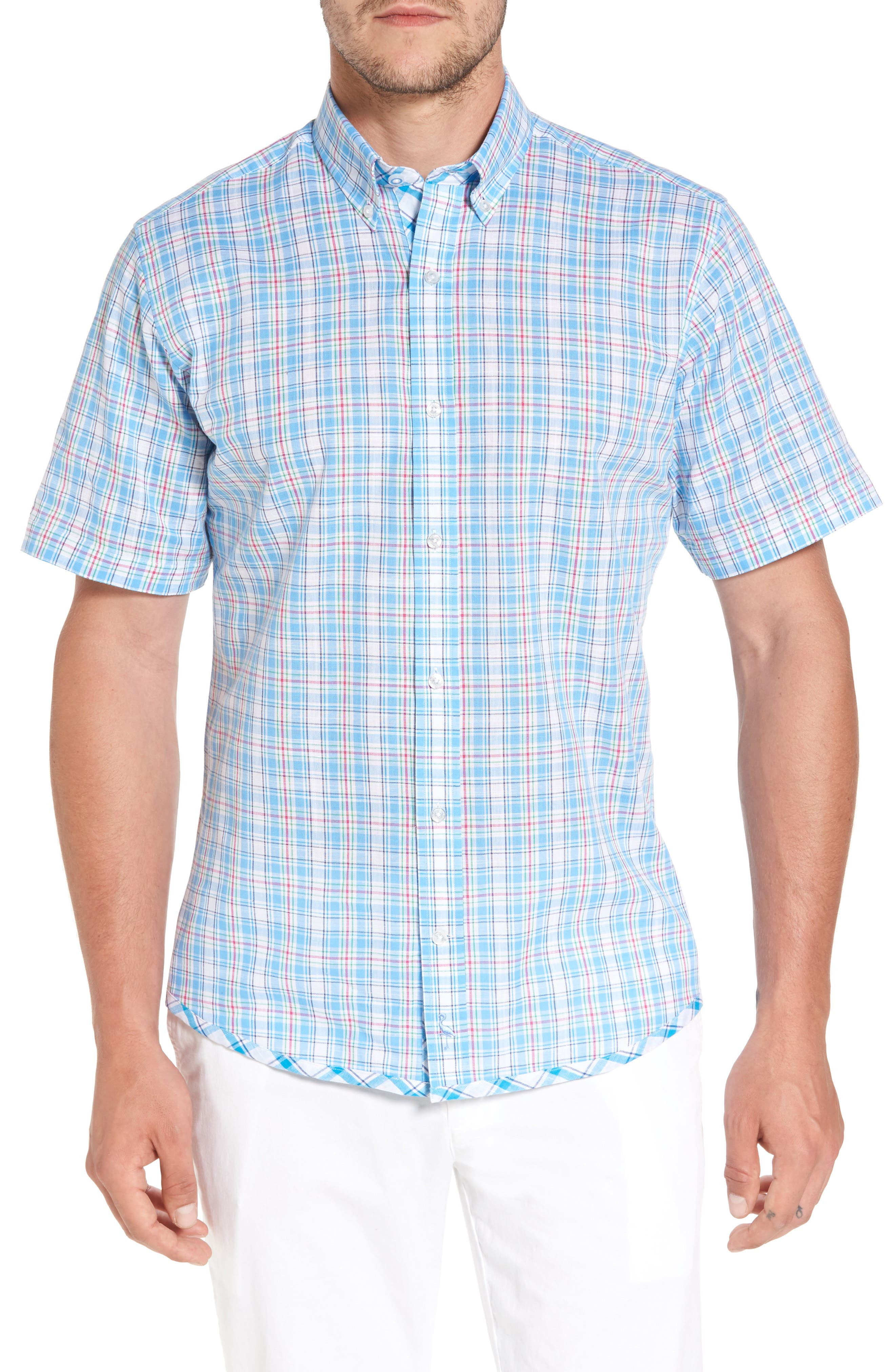 Nectarine Sport Shirt,                             Main thumbnail 1, color,