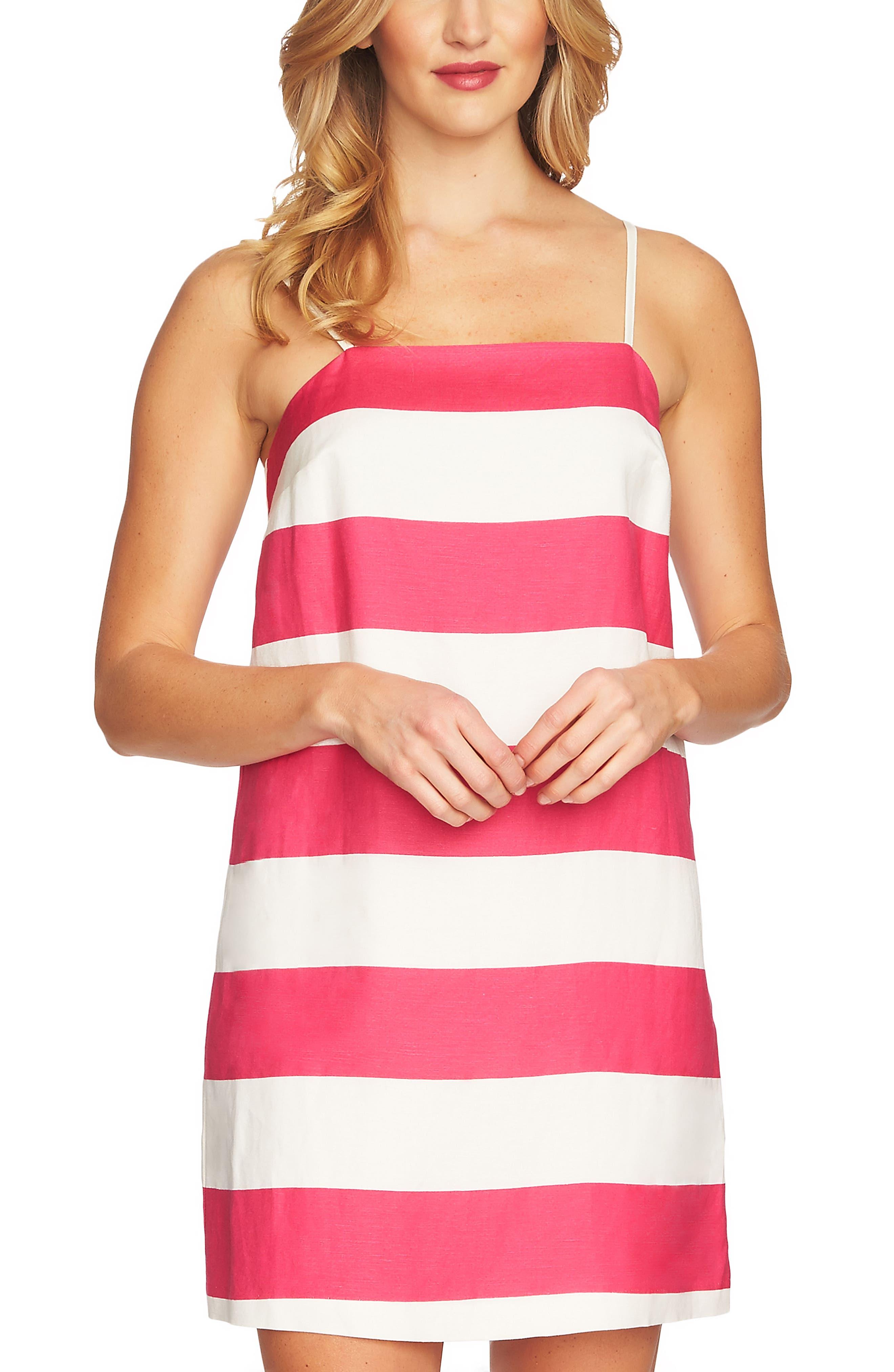 Carnival Stripe Dress,                             Alternate thumbnail 9, color,