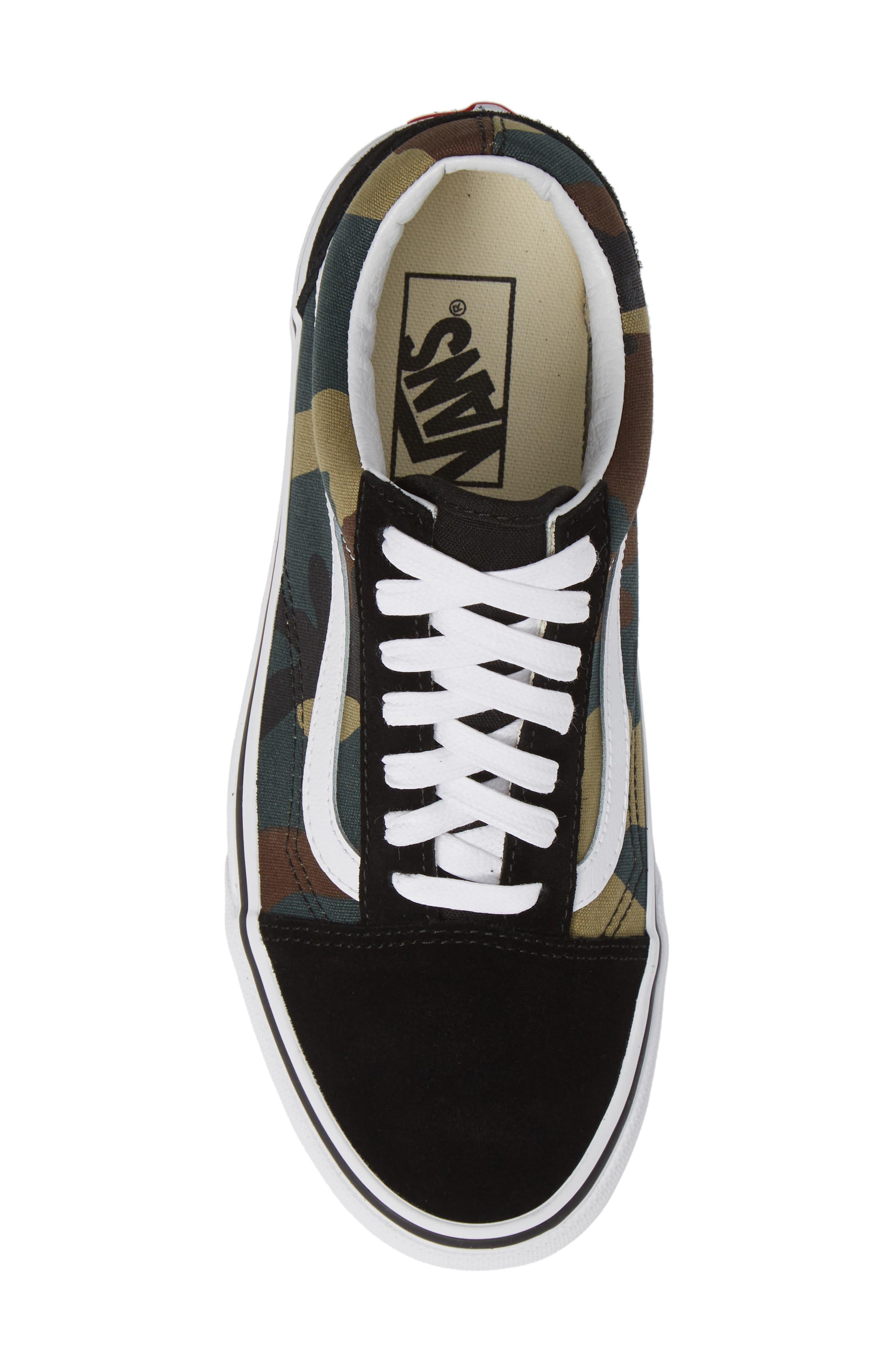 Old Skool Sneaker,                             Alternate thumbnail 5, color,                             001