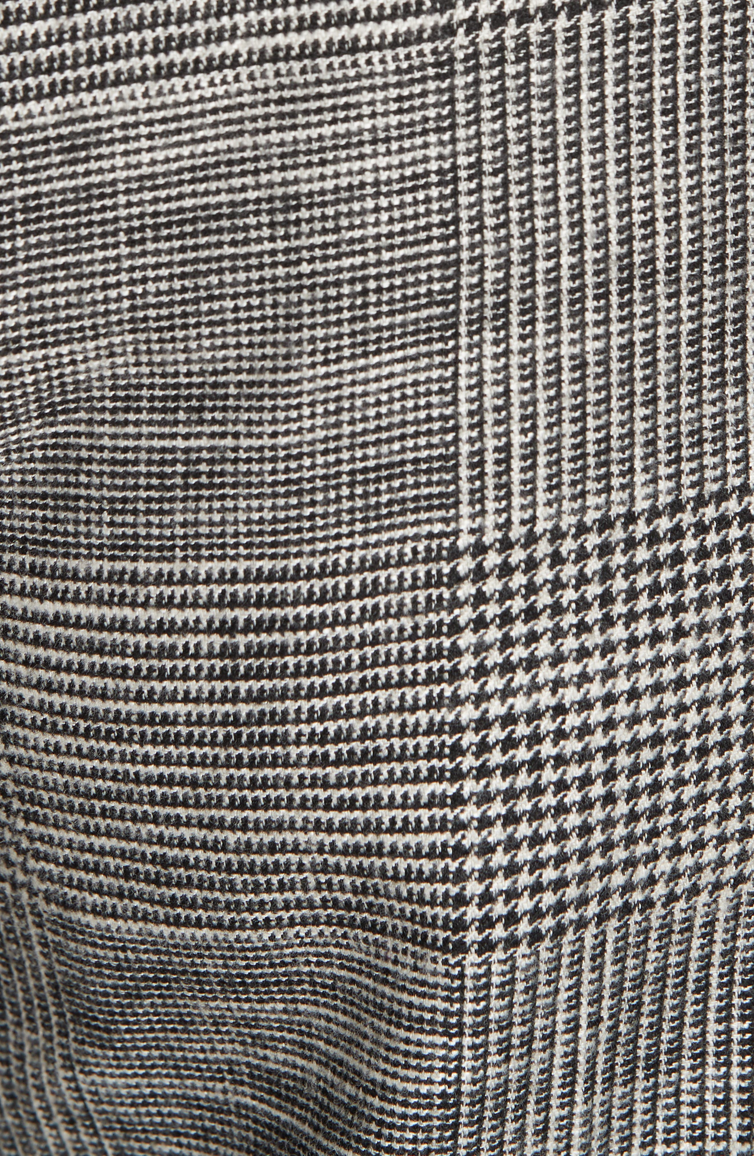 Cormac Side Stripe Check Trousers,                             Alternate thumbnail 5, color,                             020