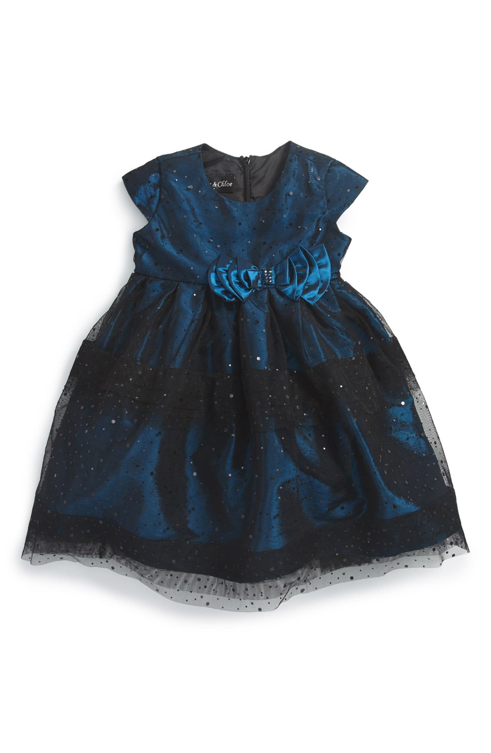 51d879d52e2d Isobella & Chloe 'Midnight Star' Empire Waist Party Dress (Baby Girls) |  Nordstrom