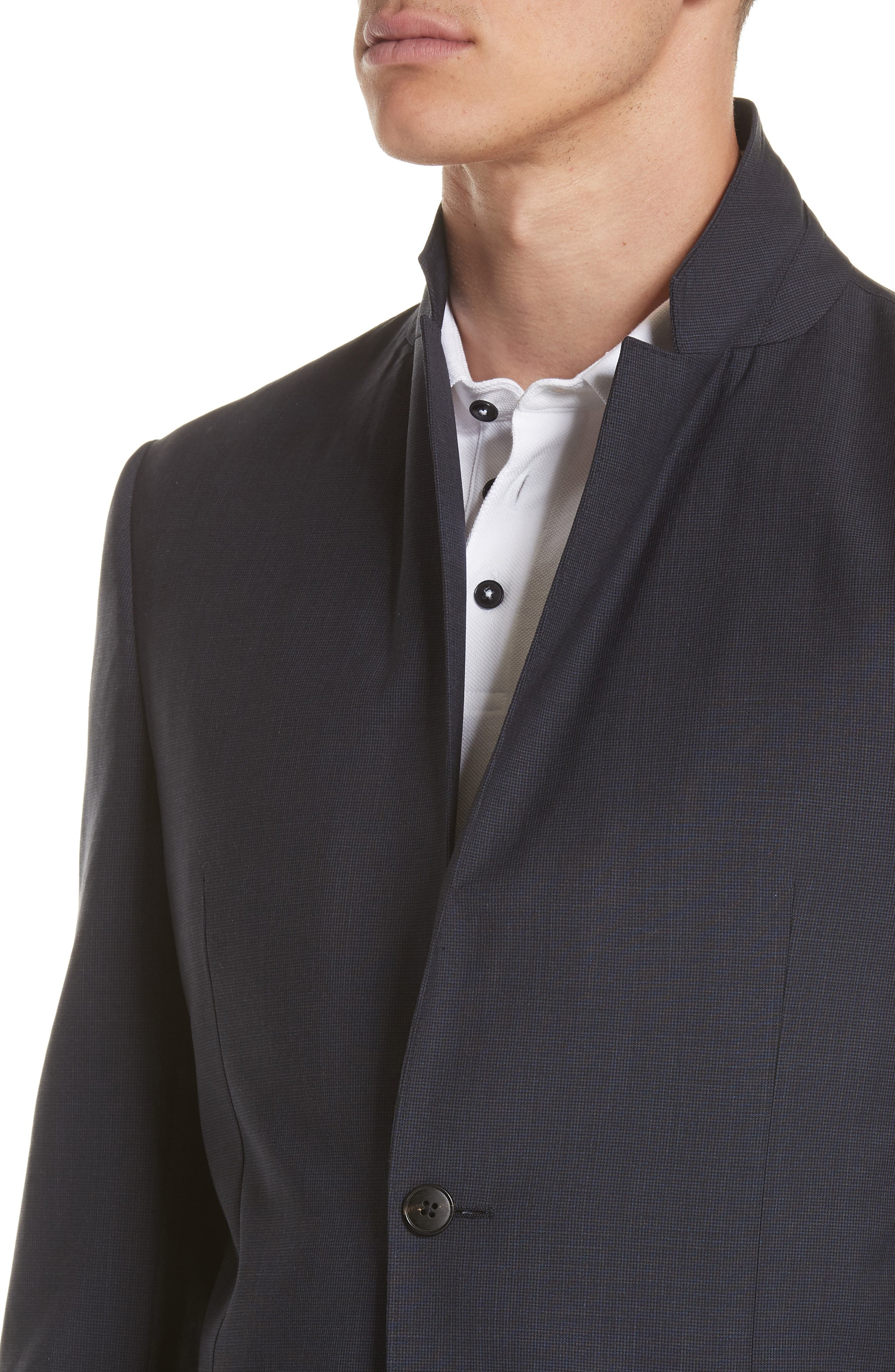 TECHMERINO<sup>™</sup> Wash & Go Trim Fit Solid Wool Suit,                             Alternate thumbnail 4, color,                             412