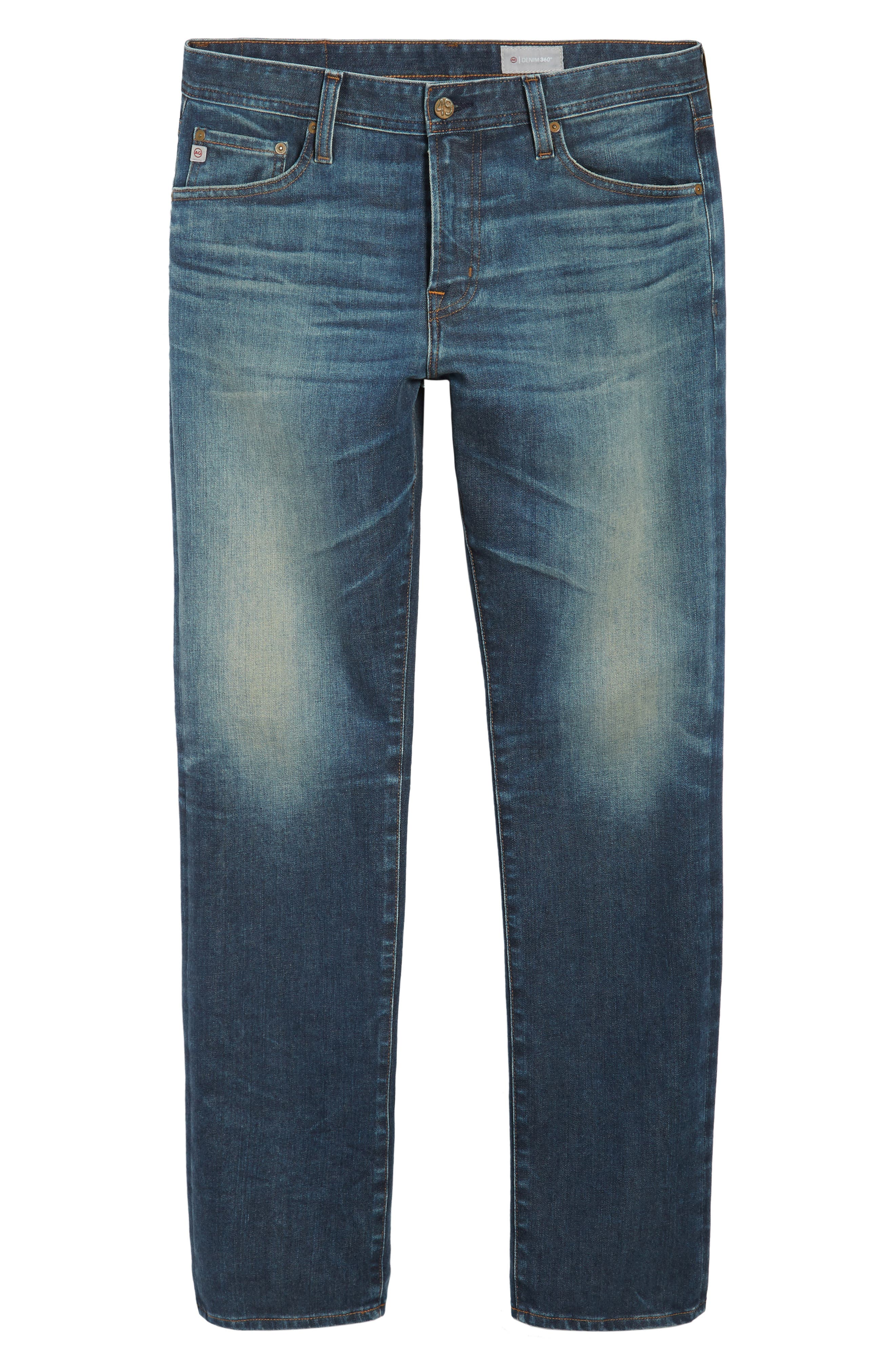 Everett Slim Straight Leg Jeans,                             Alternate thumbnail 6, color,