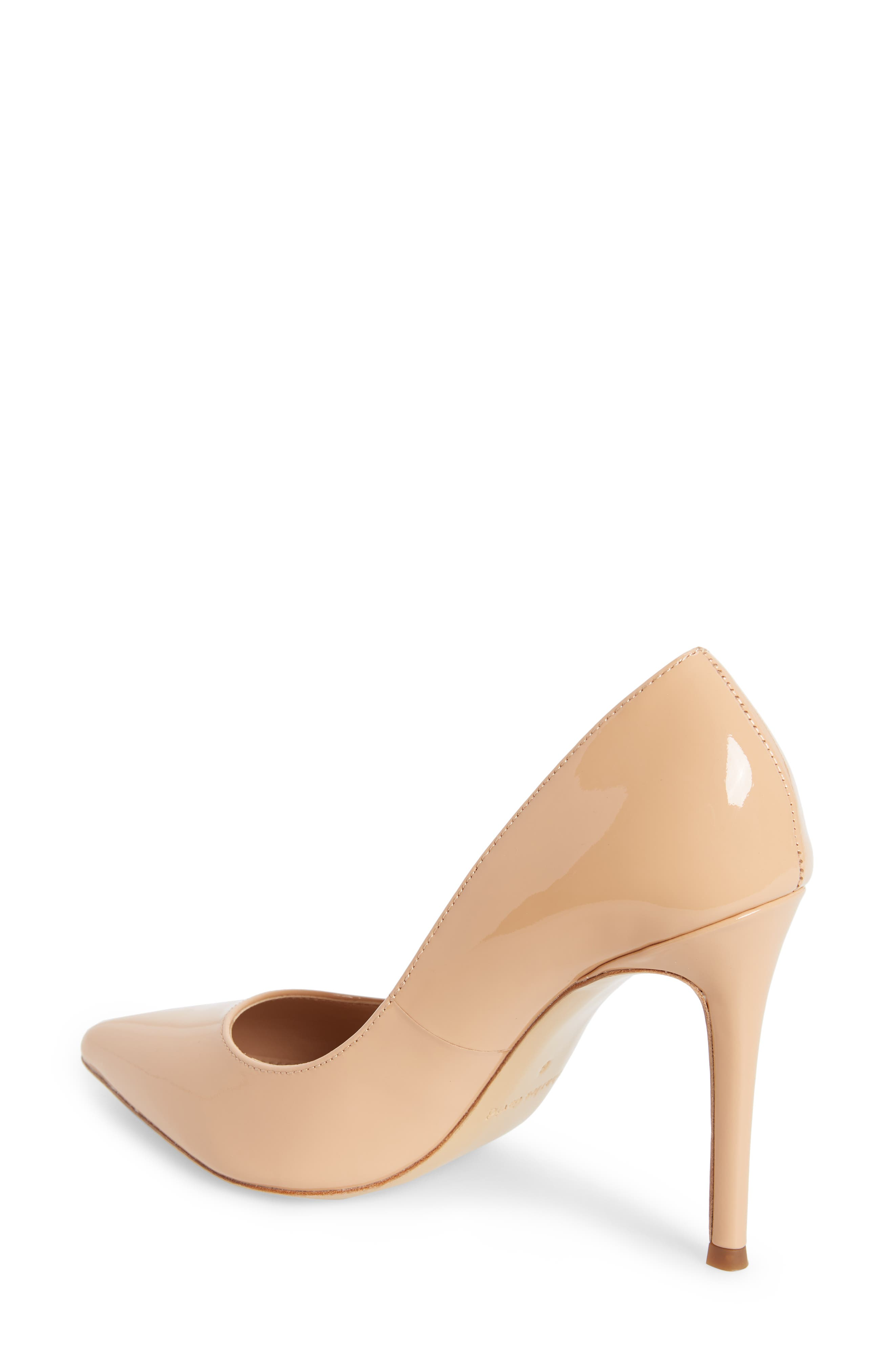 Calessi Pointy Toe Pump,                             Alternate thumbnail 2, color,                             PETAL PATENT LEATHER