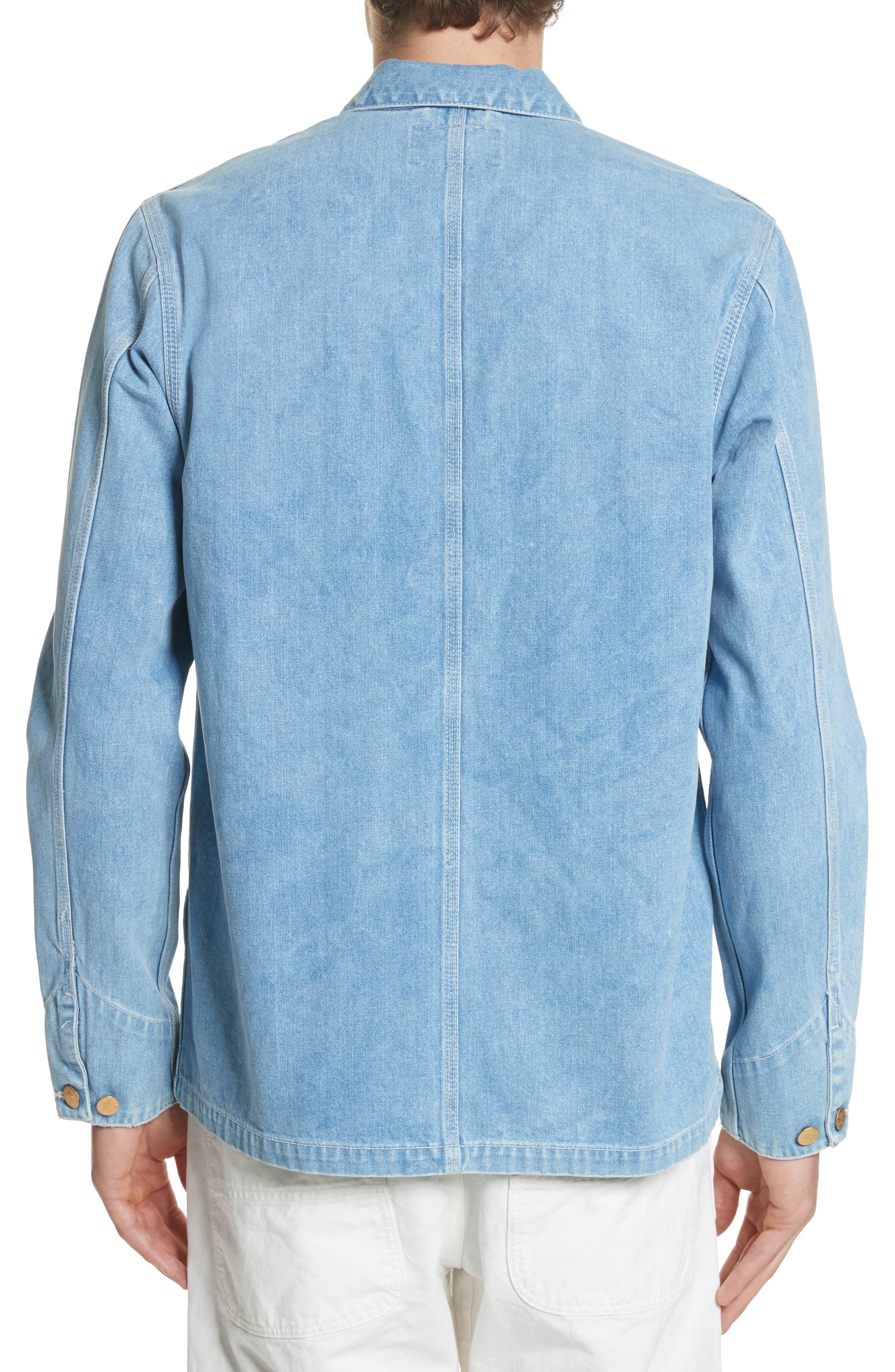 Michigan Norco Denim Chore Jacket,                             Alternate thumbnail 2, color,