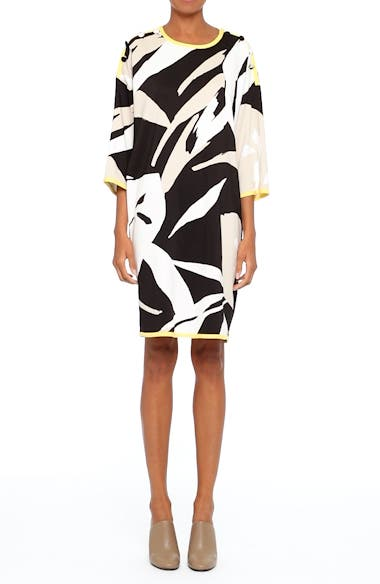Leva Print Shift Dress, video thumbnail