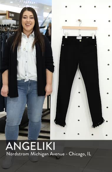 Le High Shredded Skinny Jeans, sales video thumbnail