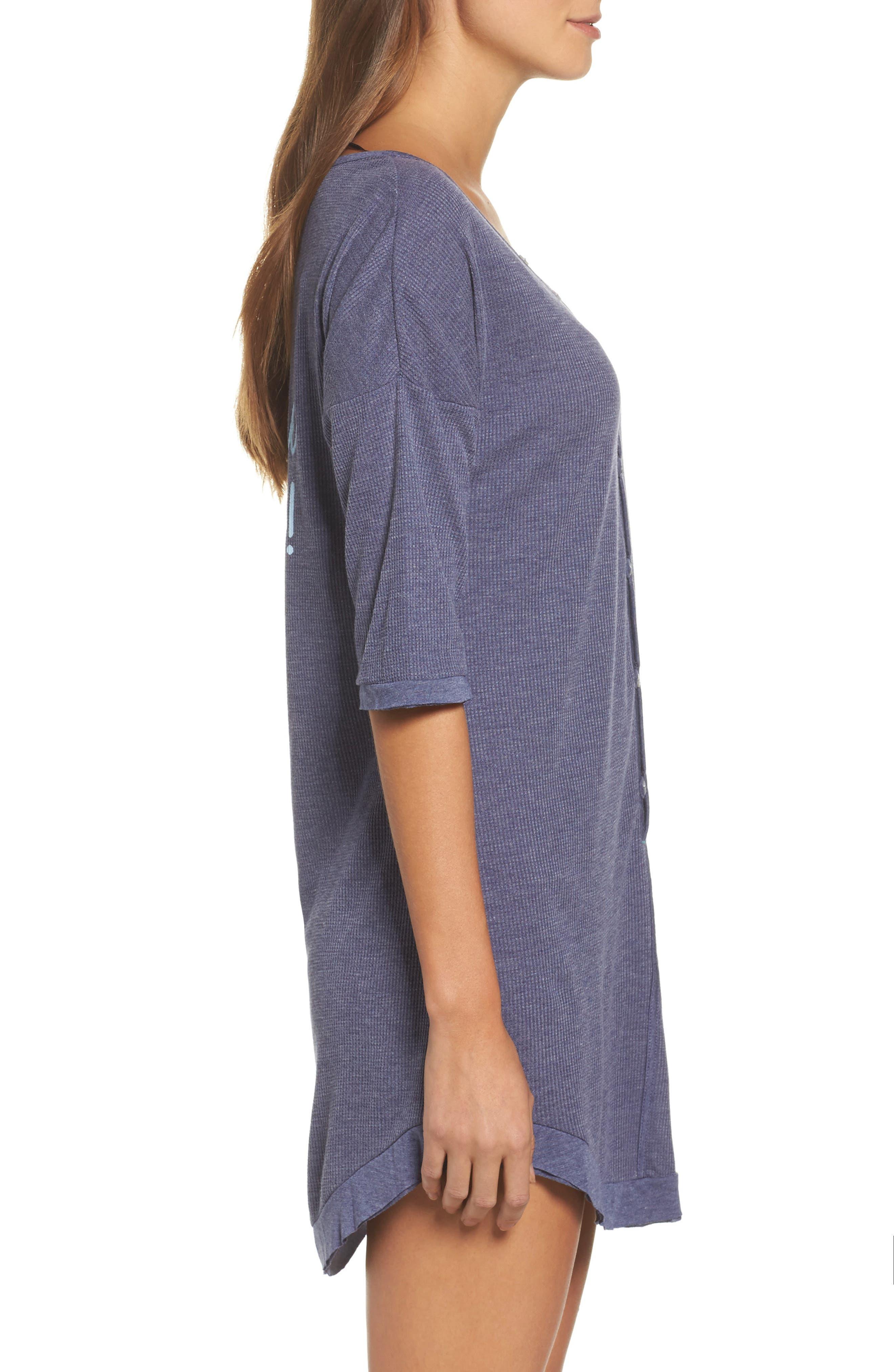 Sleep Shirt,                             Alternate thumbnail 3, color,                             425