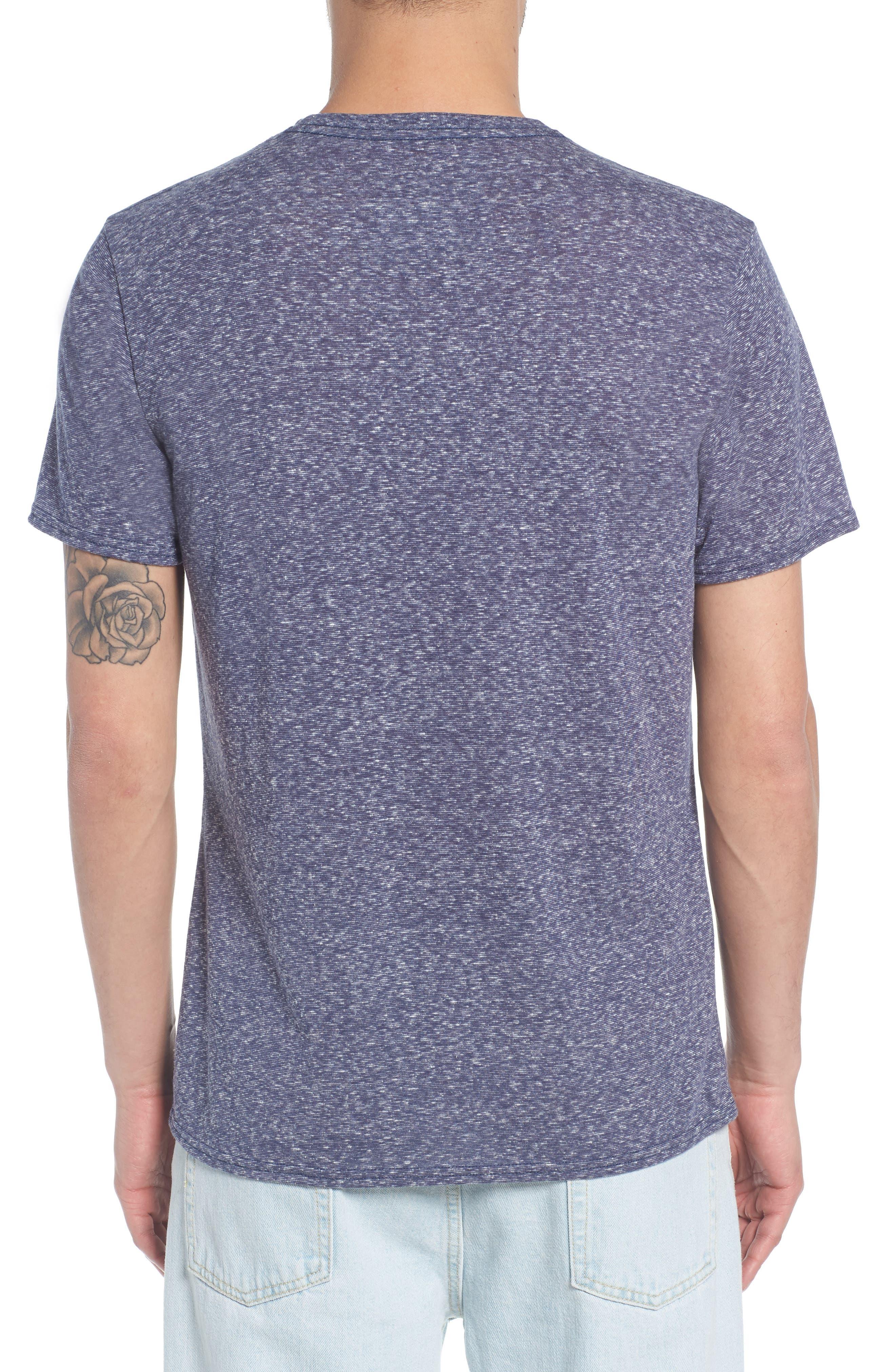 Jersey V-Neck T-Shirt,                             Alternate thumbnail 2, color,                             410
