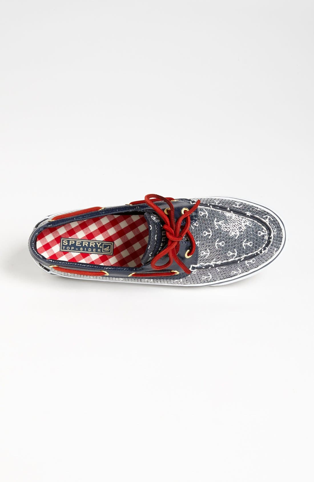 Top-Sider<sup>®</sup> 'Bahama' Sequined Boat Shoe,                             Alternate thumbnail 70, color,