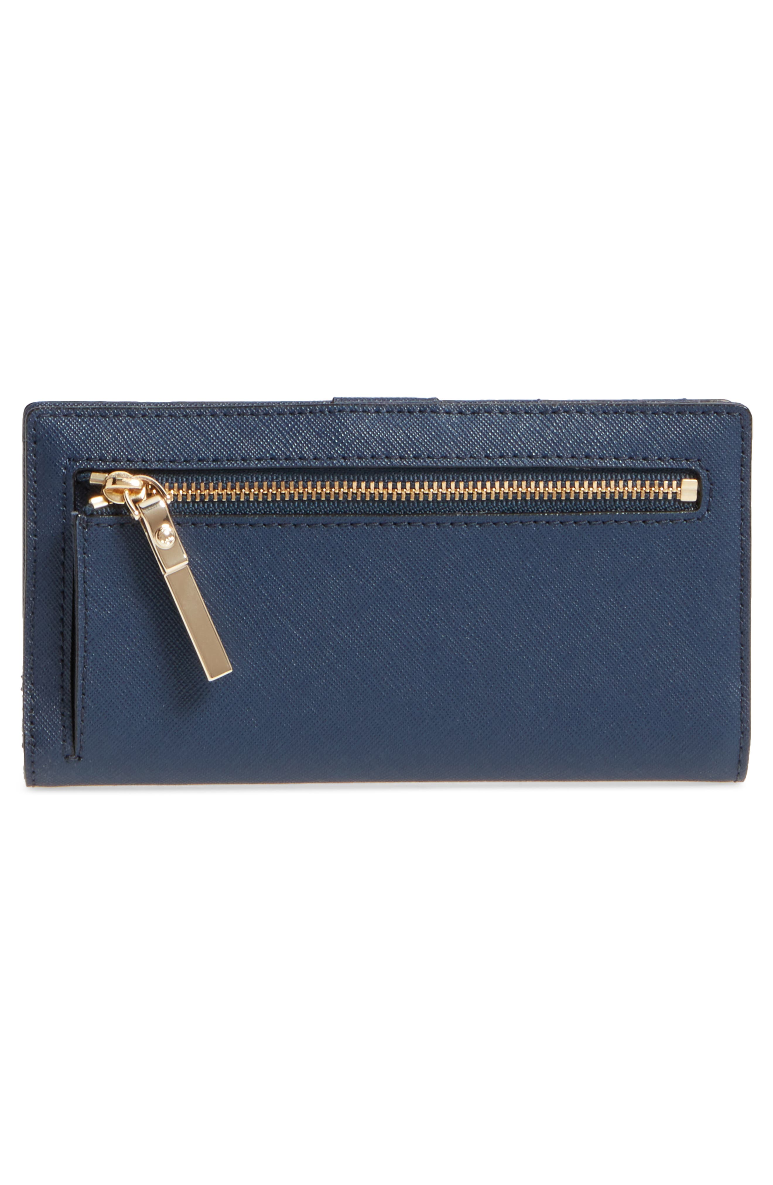 'cameron street - stacy' textured leather wallet,                             Alternate thumbnail 3, color,                             255
