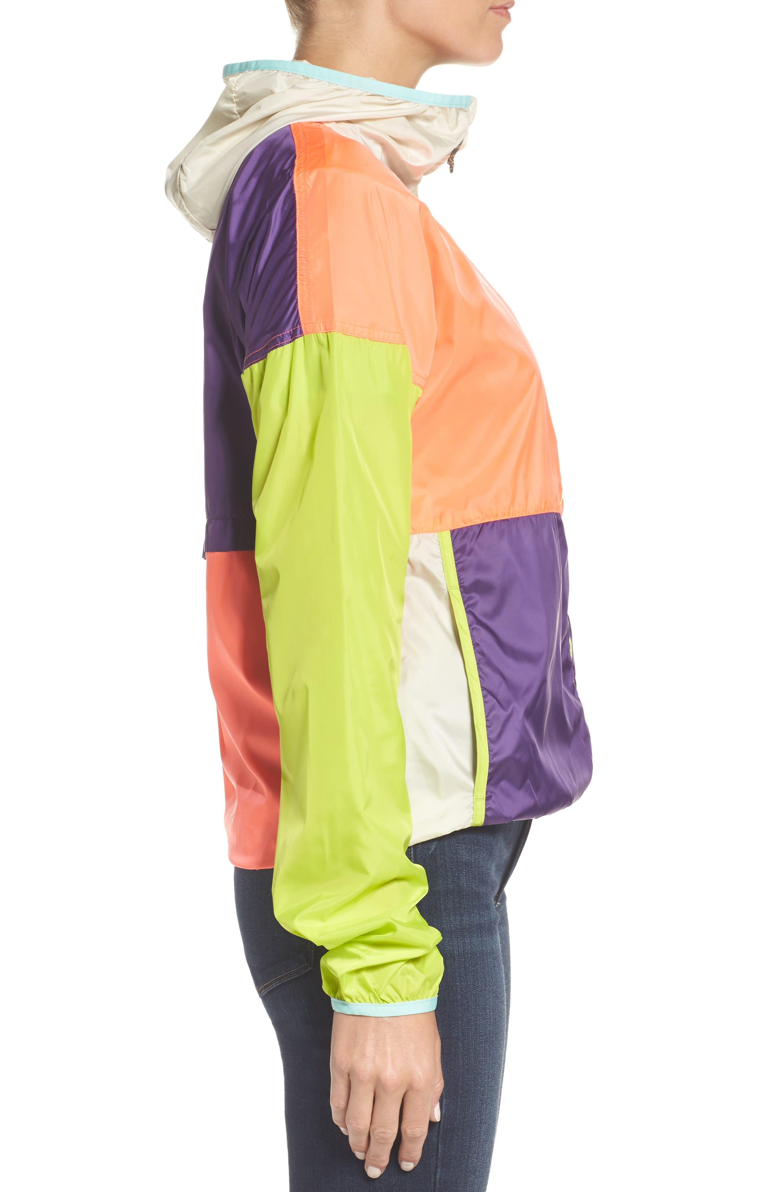 Teca Packable Water Resistant Windbreaker Jacket,                             Alternate thumbnail 14, color,