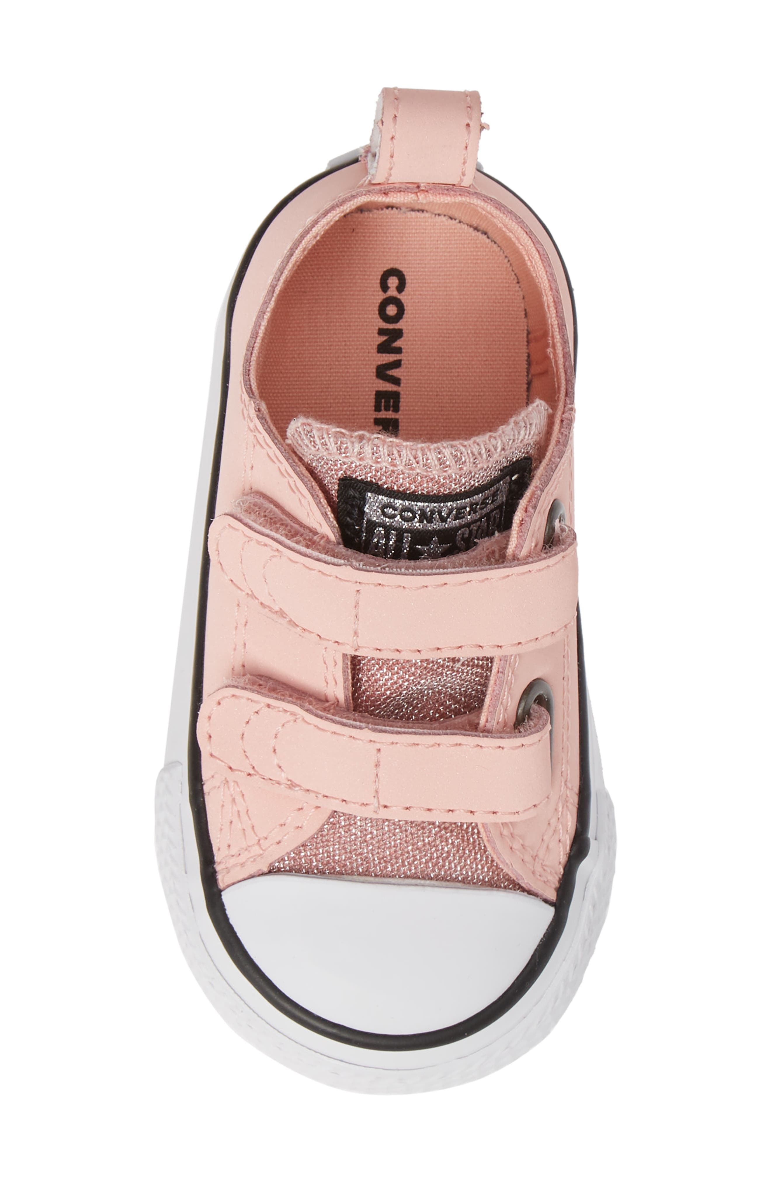 All Star<sup>®</sup> Seasonal Glitter Sneaker,                             Alternate thumbnail 5, color,                             STORM PINK