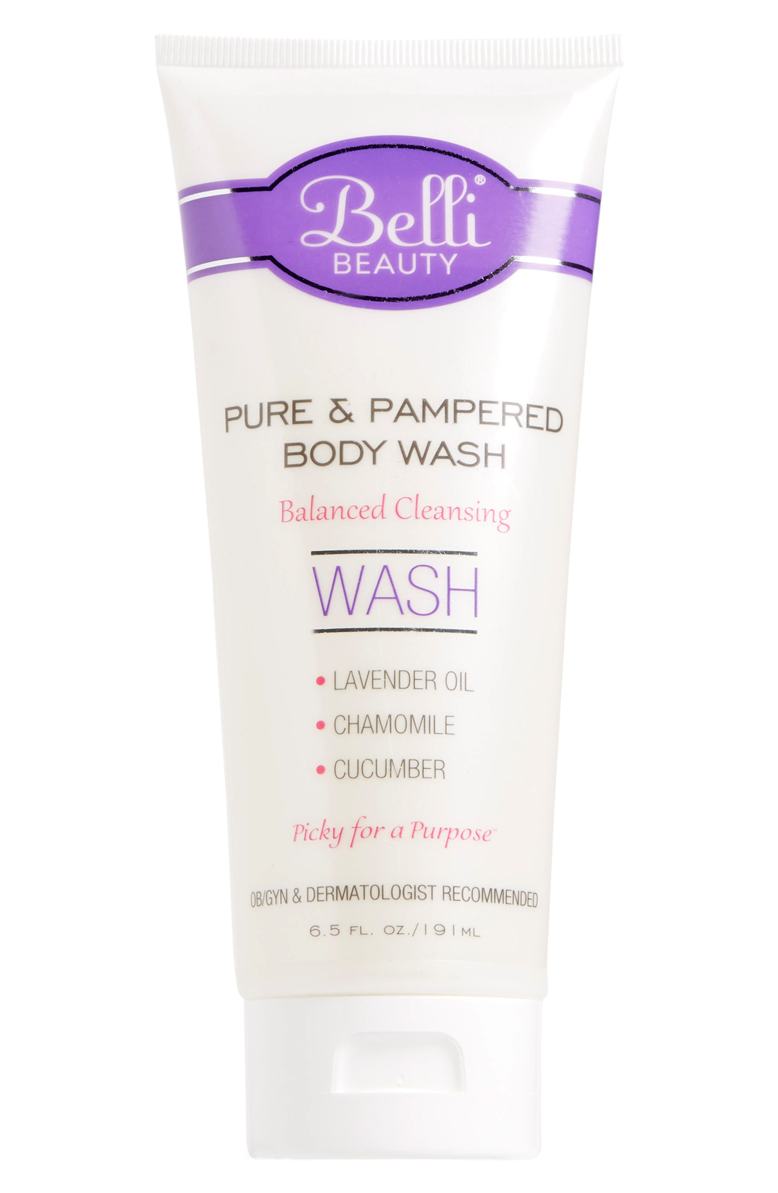 Belli Skincare Maternity Pure  Pampered Body Wash