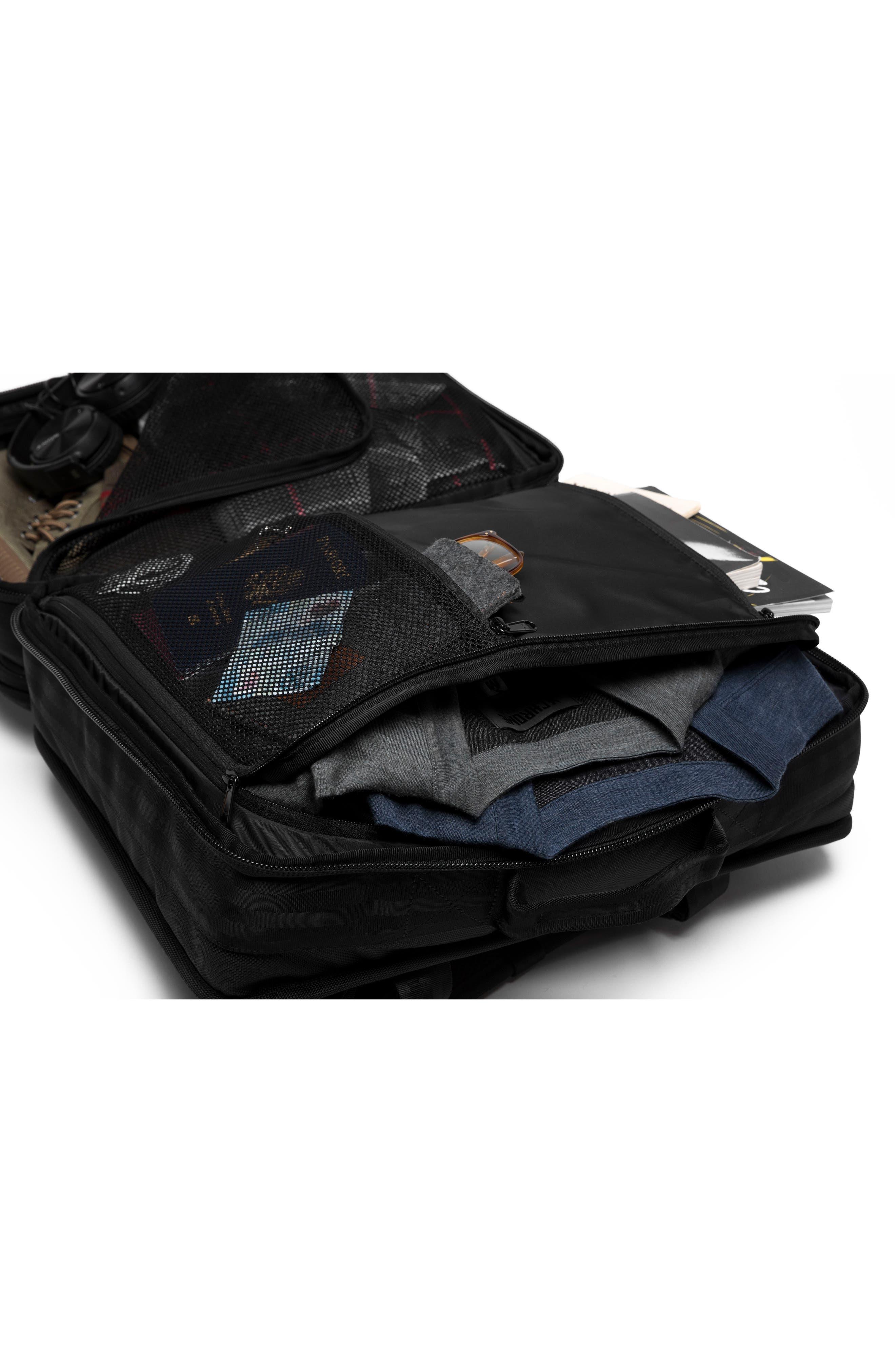 Macheto Travel Backpack,                             Alternate thumbnail 7, color,                             ALL BLACK
