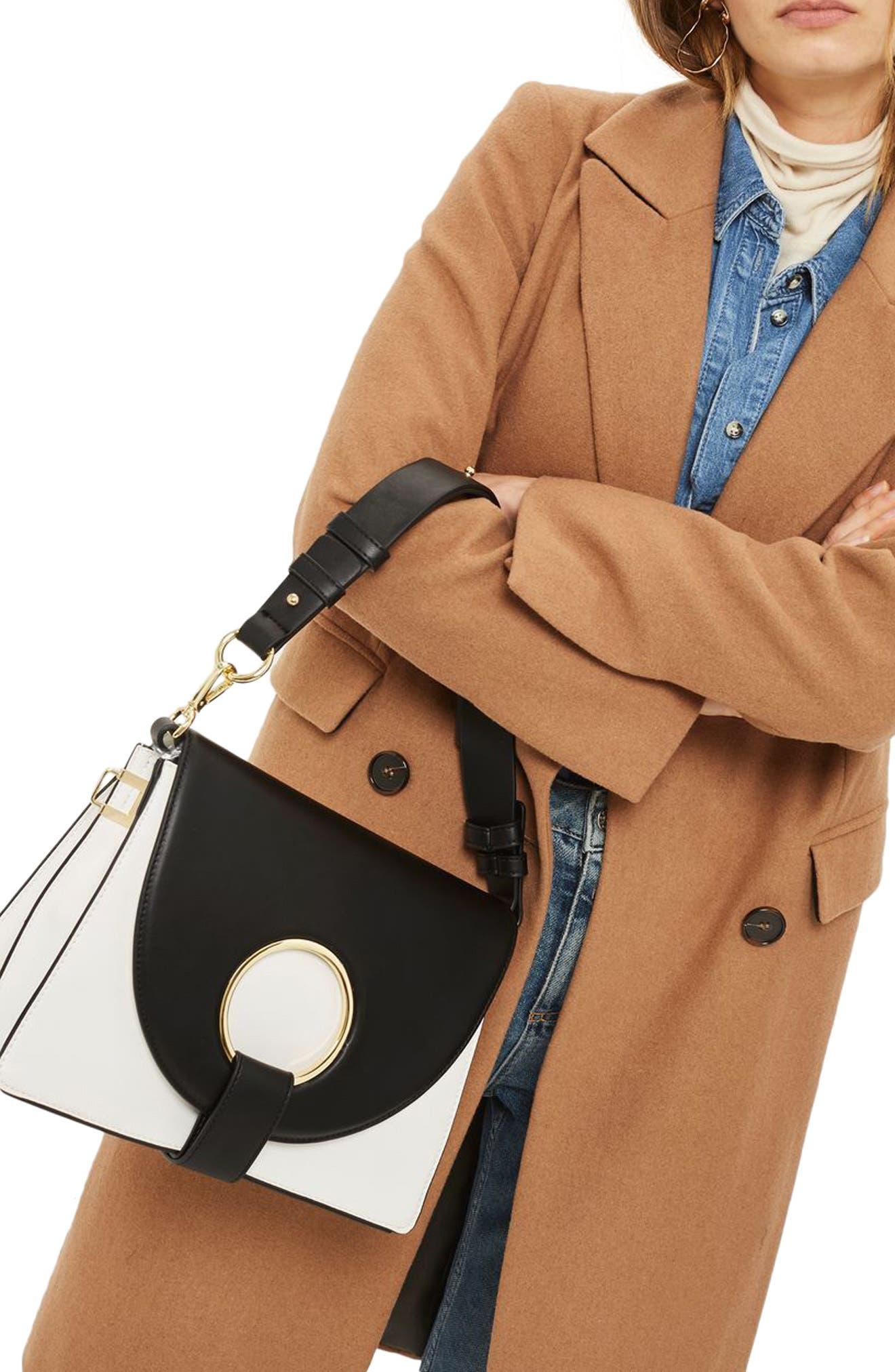 Shay Ring Shoulder Bag,                             Alternate thumbnail 2, color,                             100