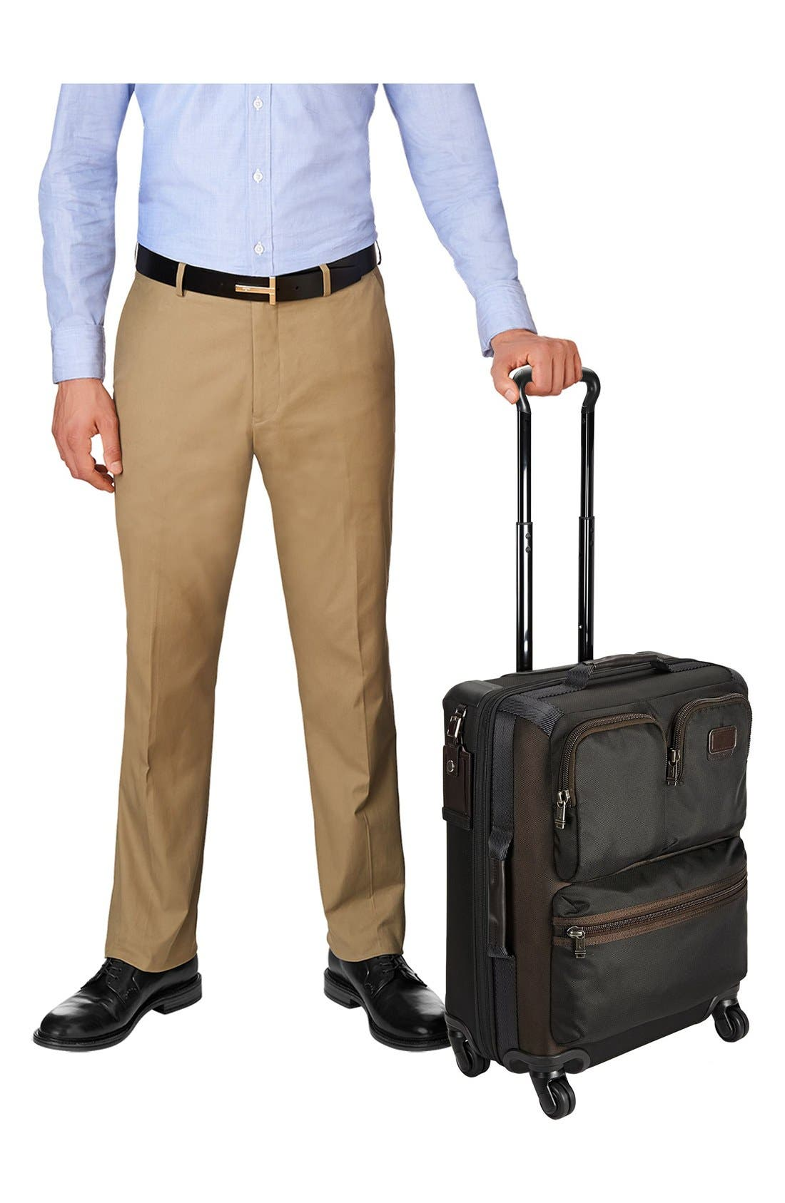 Alpha Bravo - Kirtland 22-Inch Continental Wheeled Carry-On,                             Alternate thumbnail 6, color,                             001