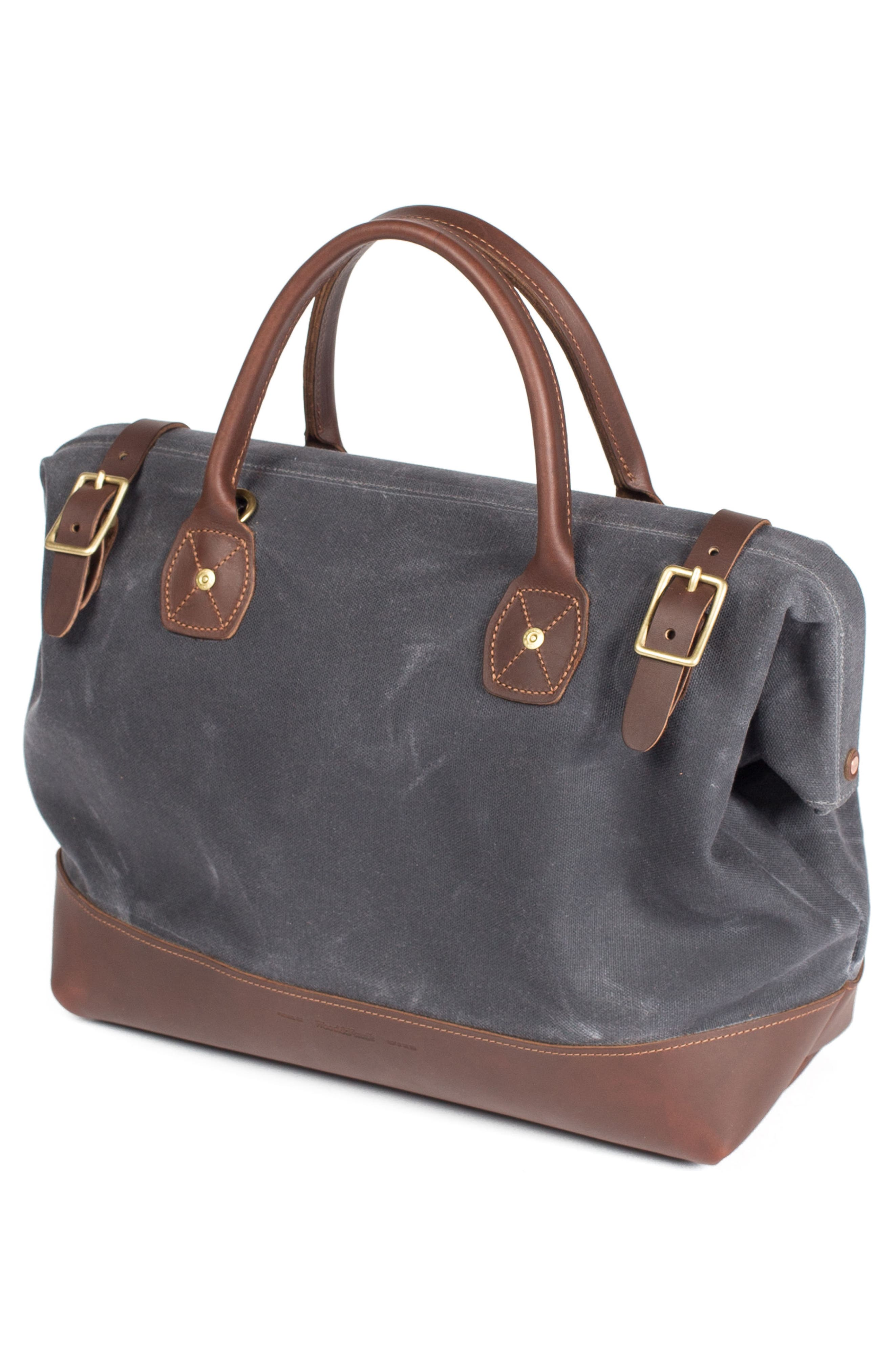 Carpenter Waxed Canvas Bag,                             Alternate thumbnail 3, color,                             021