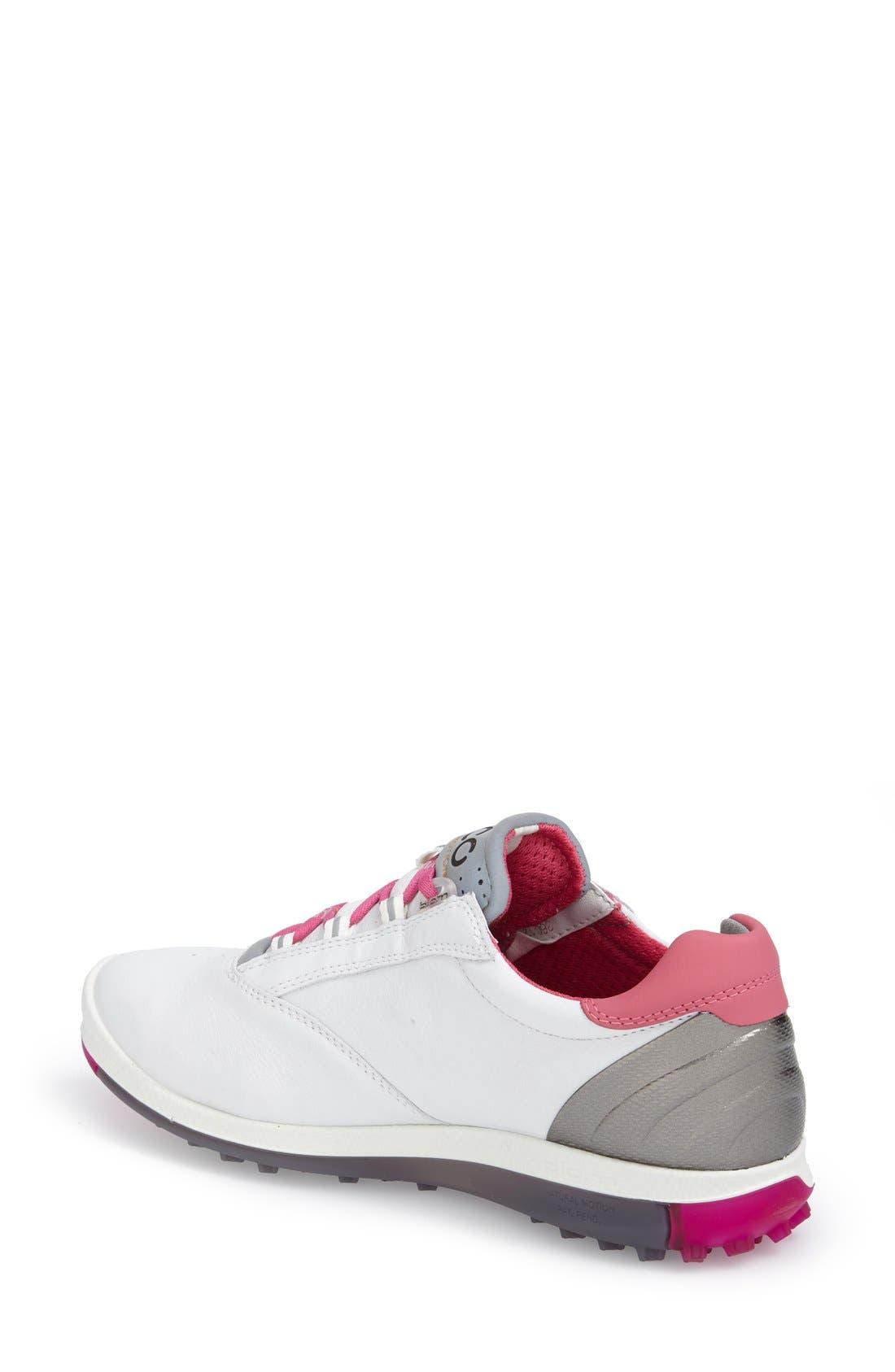 'BIOM' Hydromax<sup>®</sup> Waterproof Golf Shoe,                             Alternate thumbnail 21, color,