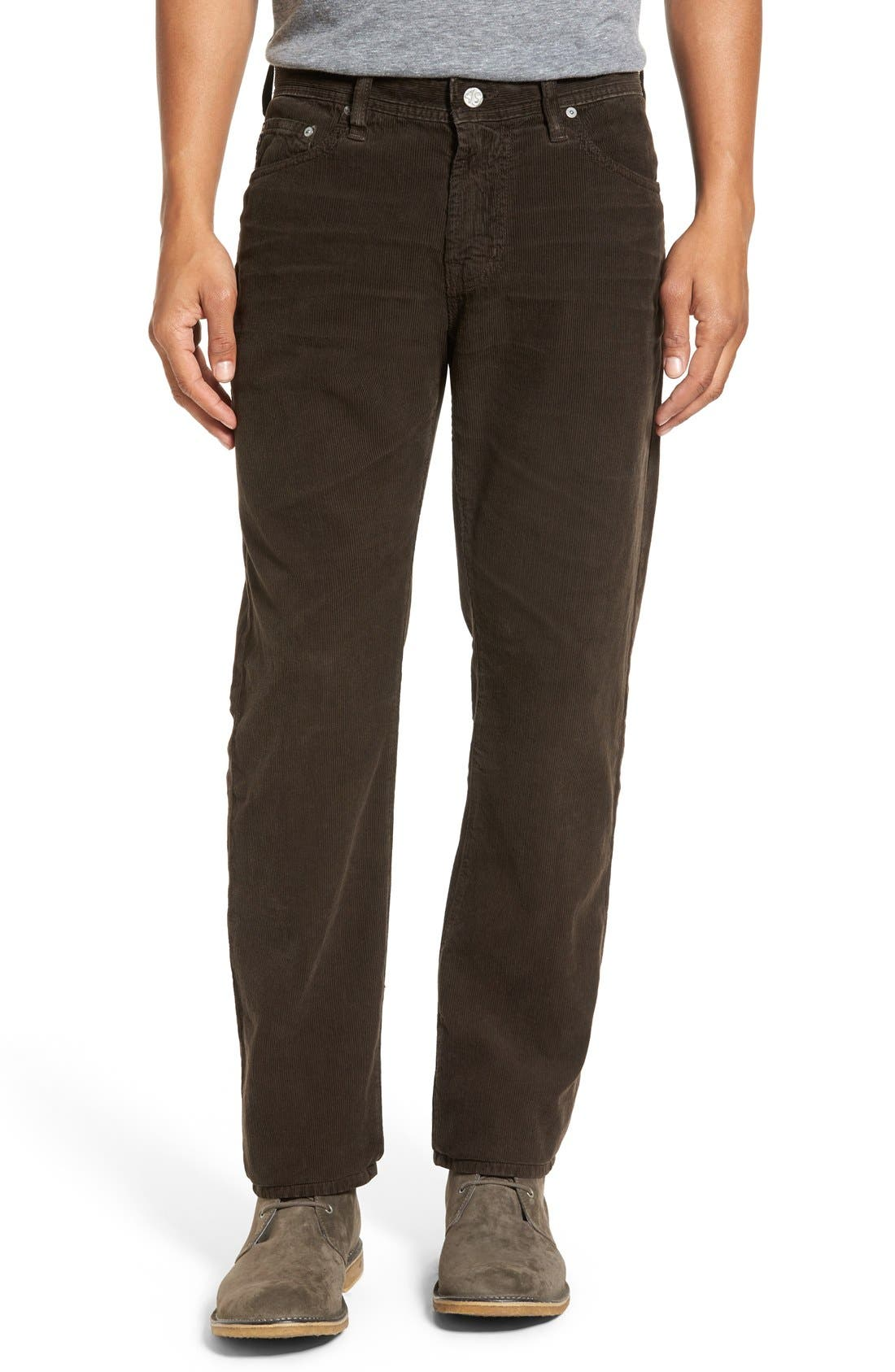 'Graduate' Tailored Straight Leg Corduroy Pants,                             Main thumbnail 8, color,
