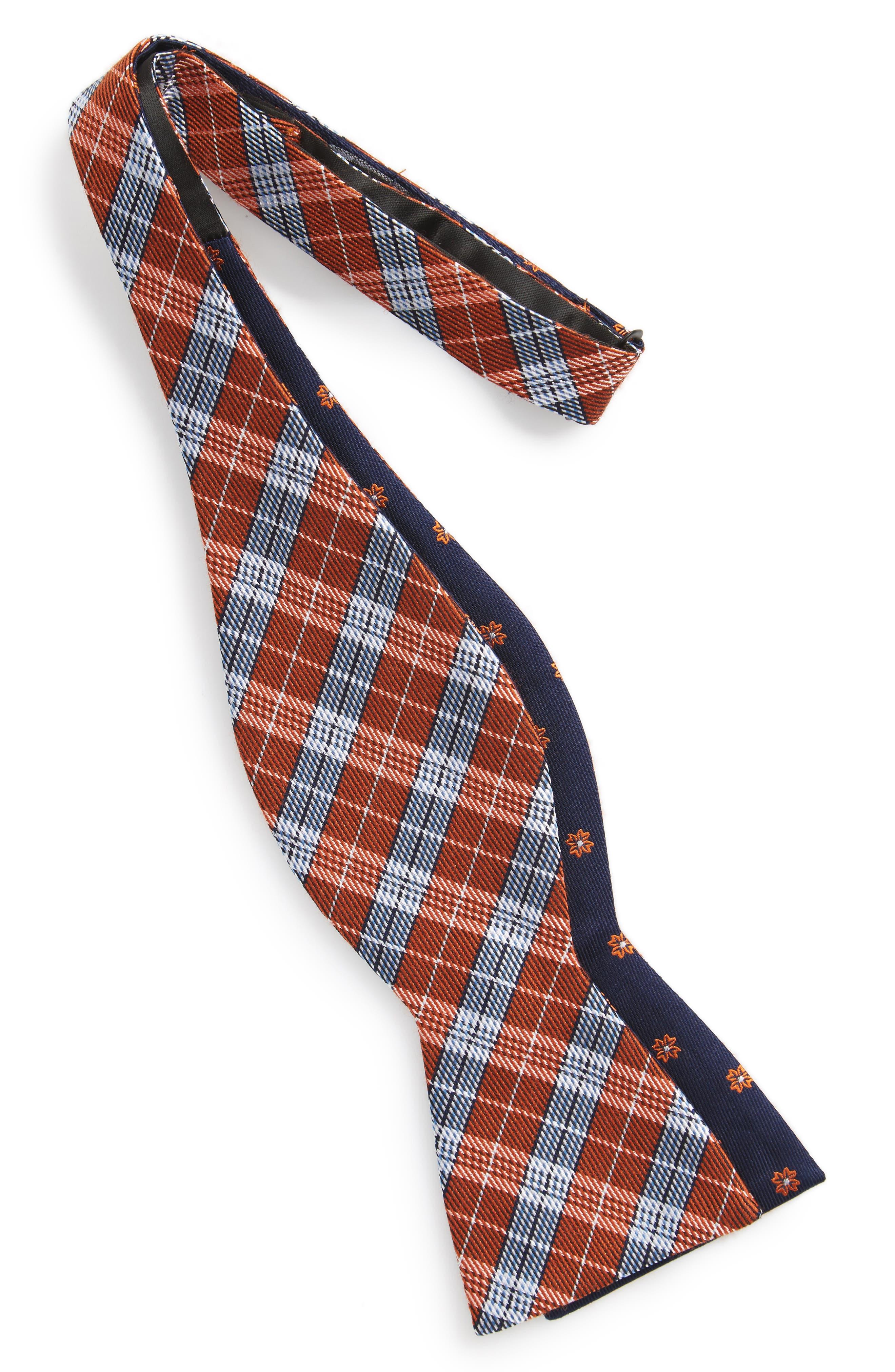 Emerson Reversible Silk Bow Tie,                             Alternate thumbnail 8, color,