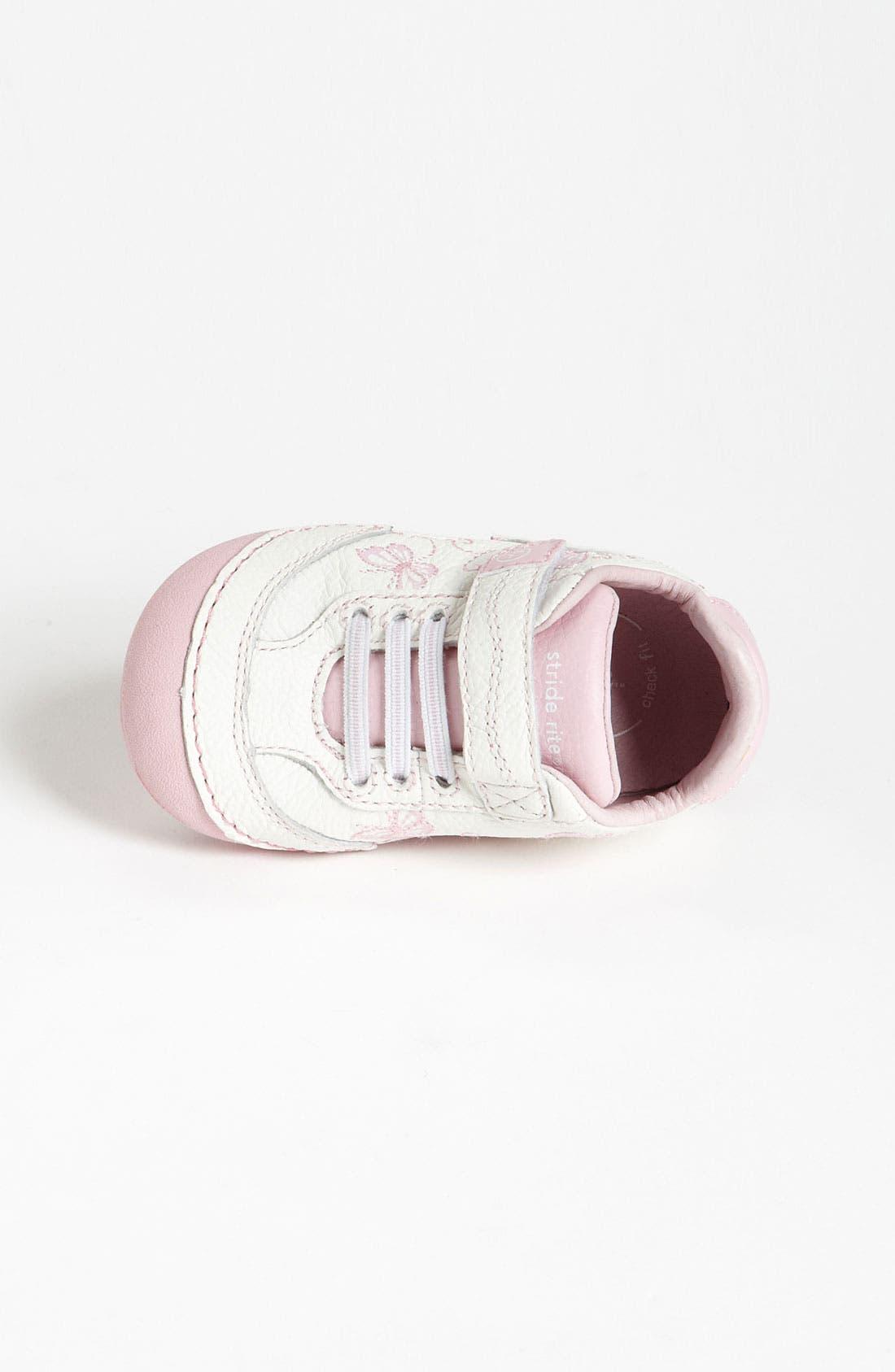 Sneaker,                             Alternate thumbnail 2, color,                             WHITE/ PINK