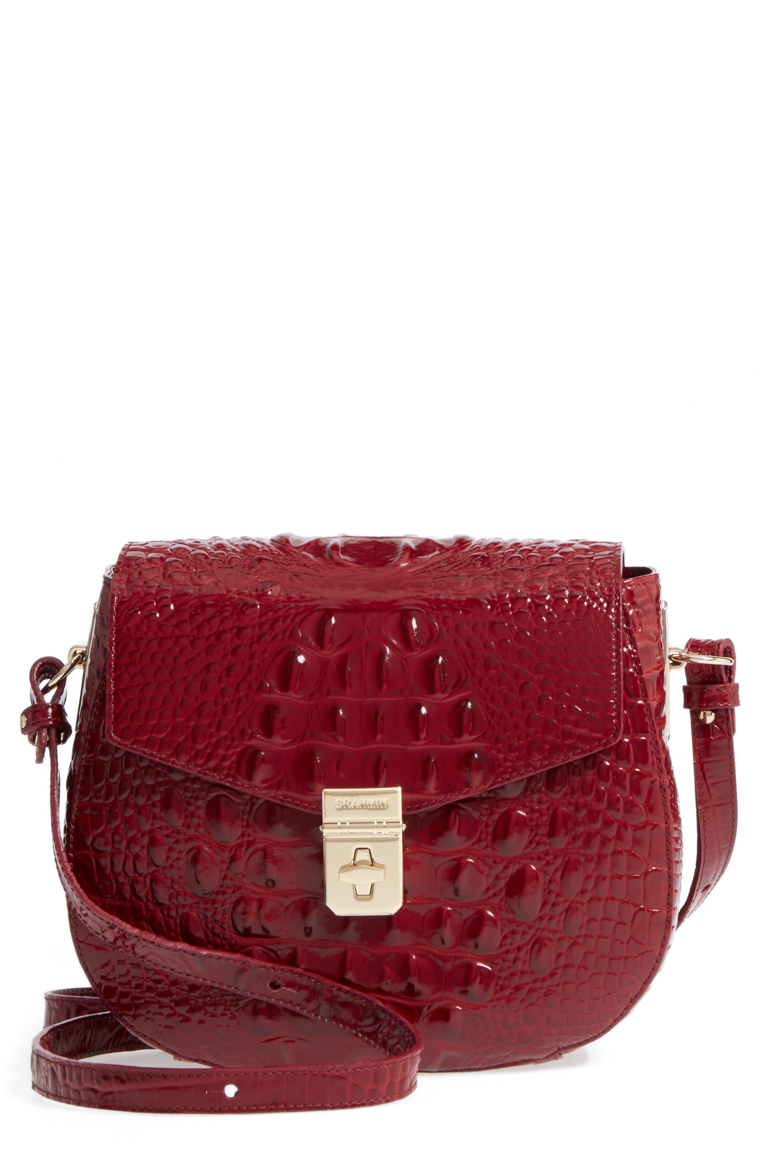Melbourne - Lizzie Leather Crossbody Bag,                             Main thumbnail 5, color,