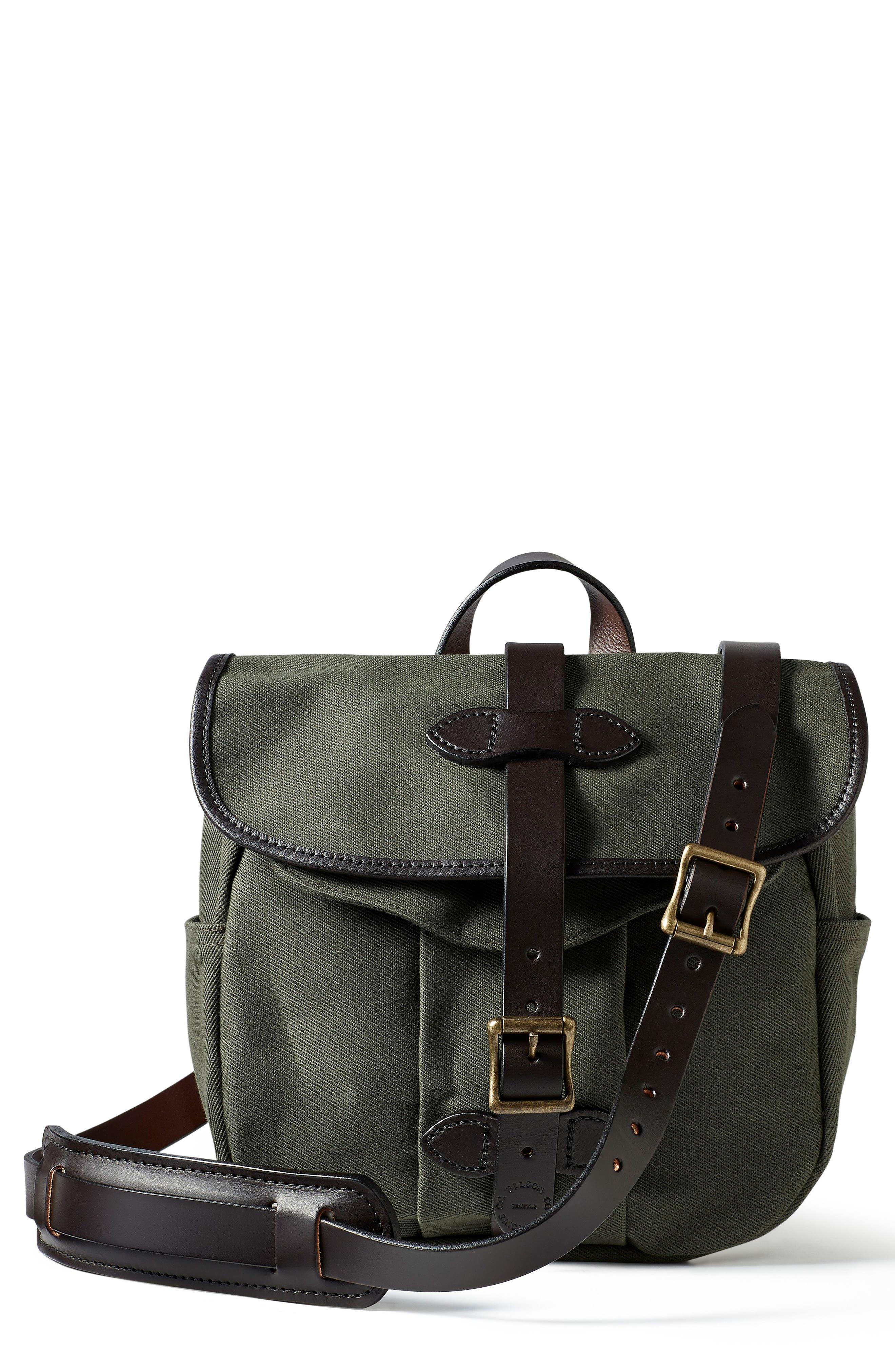 Small Field Bag,                             Main thumbnail 1, color,                             OTTER GREEN