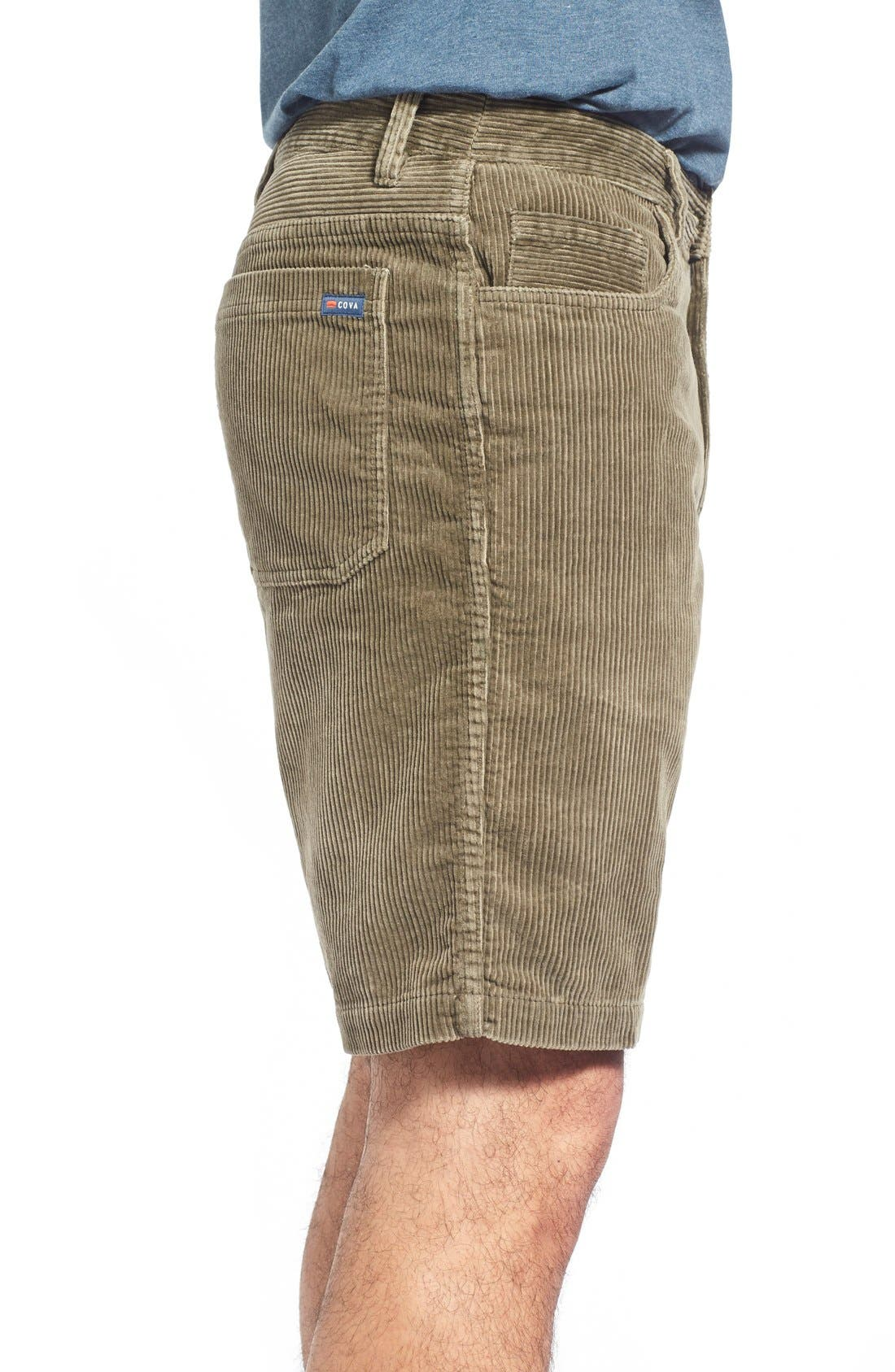 Kordo Corduroy Walking Shorts,                             Alternate thumbnail 13, color,