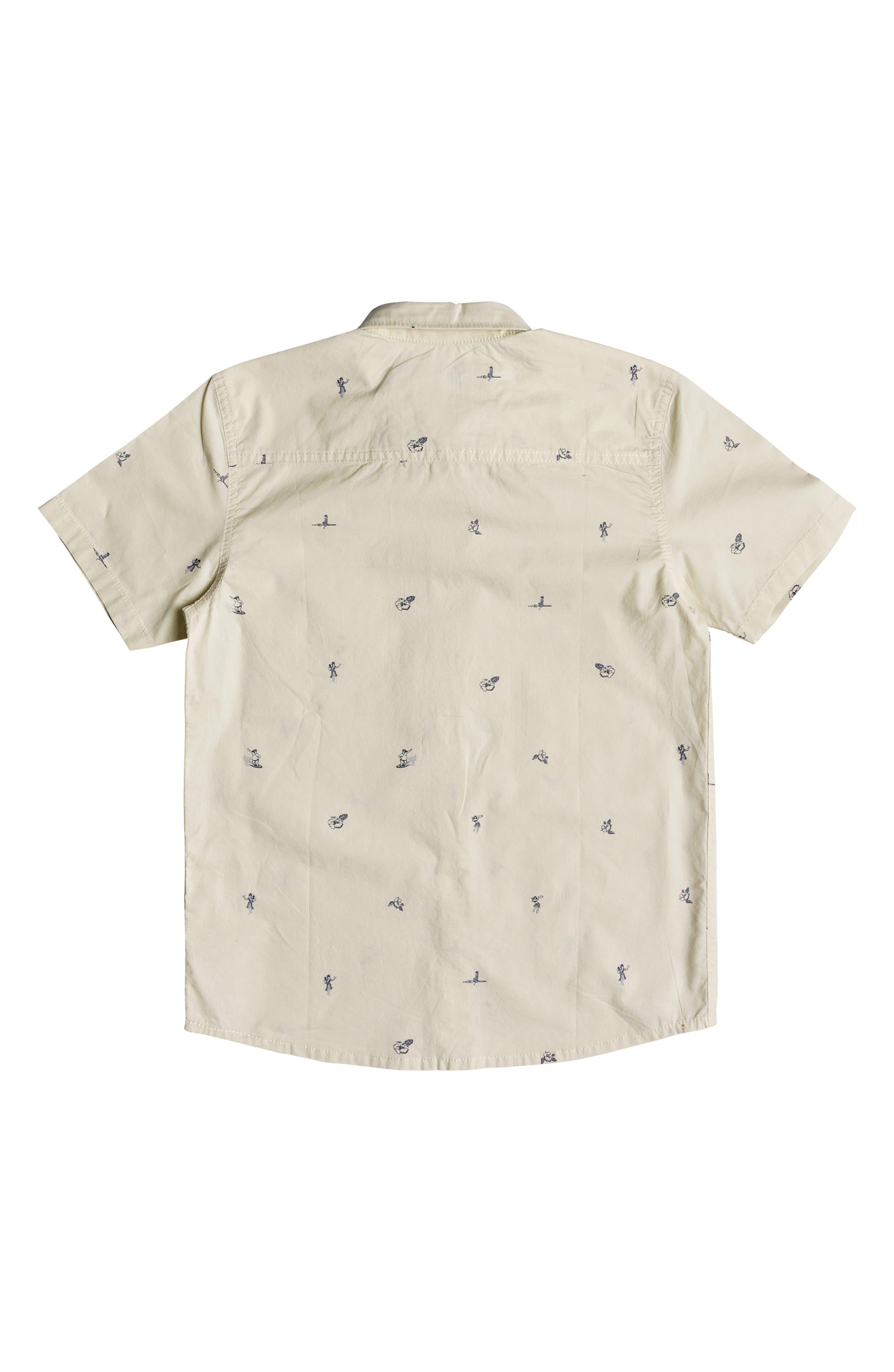 Mini Kamakura Woven Shirt,                             Alternate thumbnail 2, color,                             BIRCH