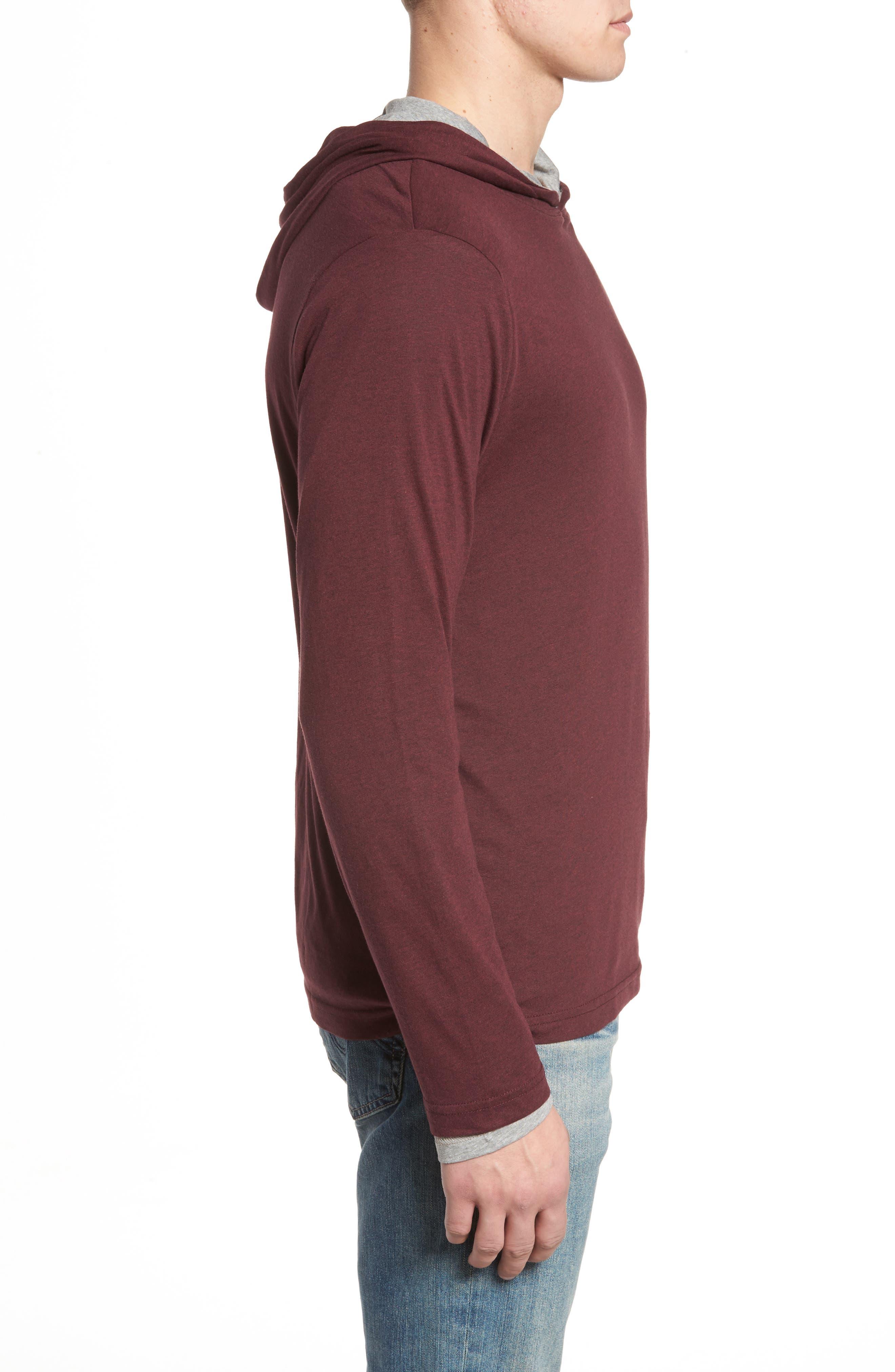 Reversible Hooded Jersey T-Shirt,                             Alternate thumbnail 12, color,