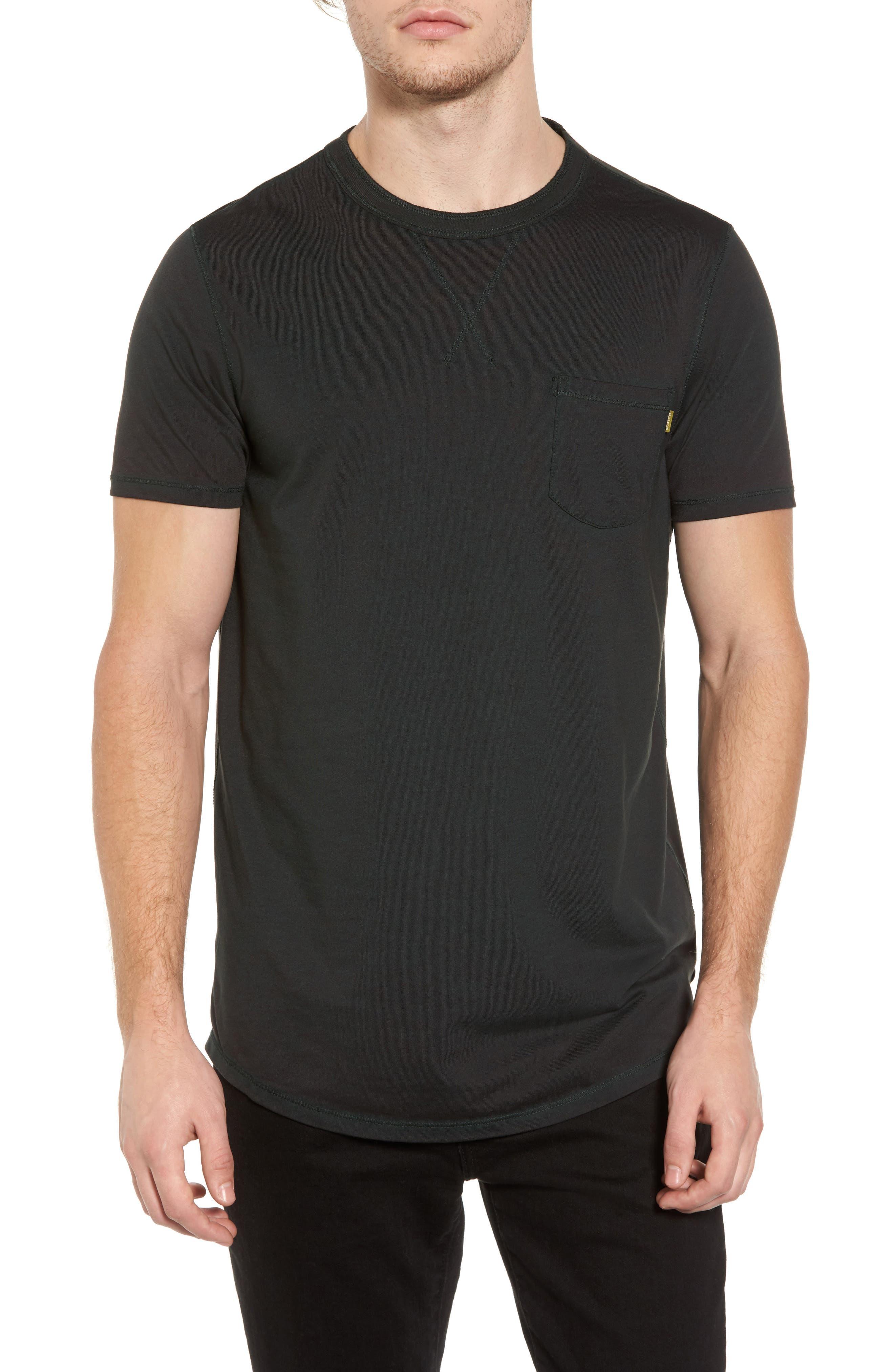Crewneck Pocket T-Shirt,                         Main,                         color,