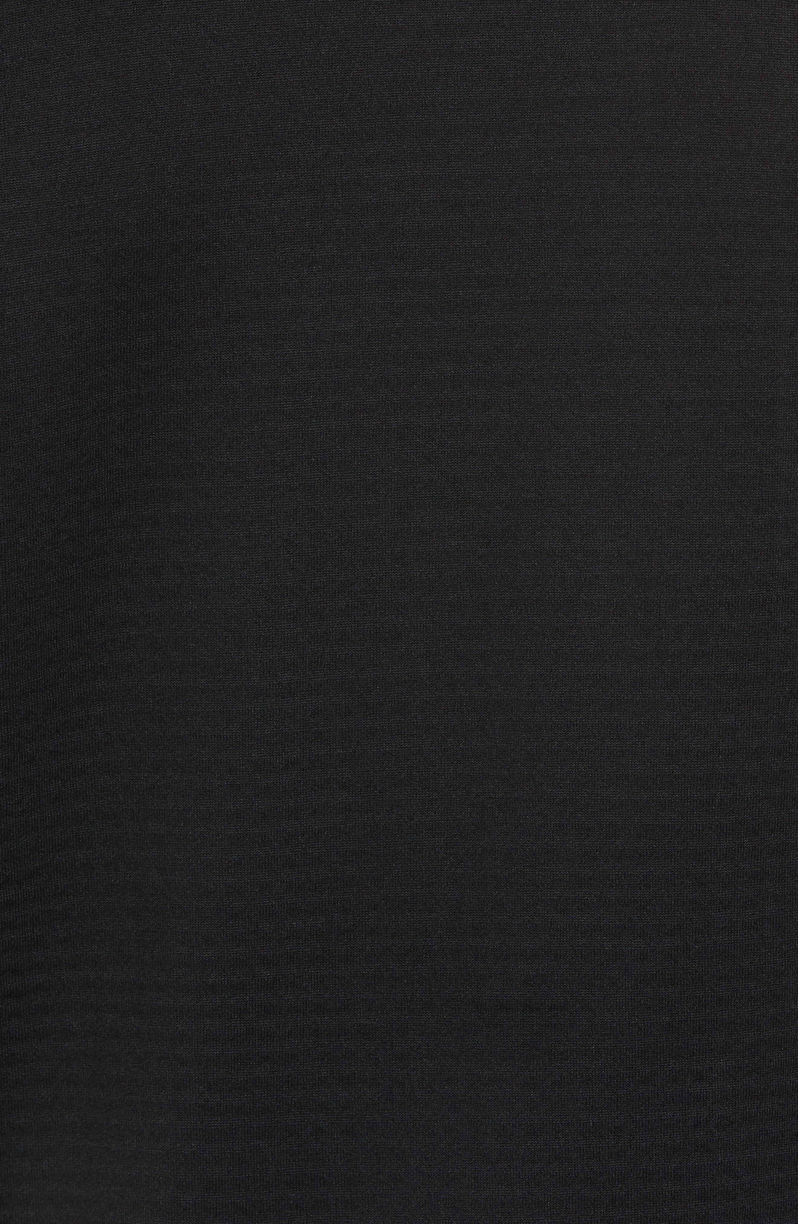 ThermaSphere Long Sleeve Running T-Shirt,                             Alternate thumbnail 5, color,                             011