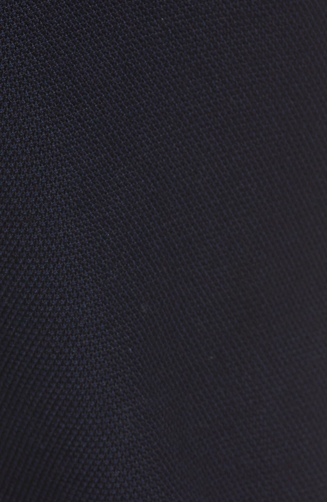 Delaware Slim Microtexture Five Pocket Pants,                             Alternate thumbnail 5, color,                             410