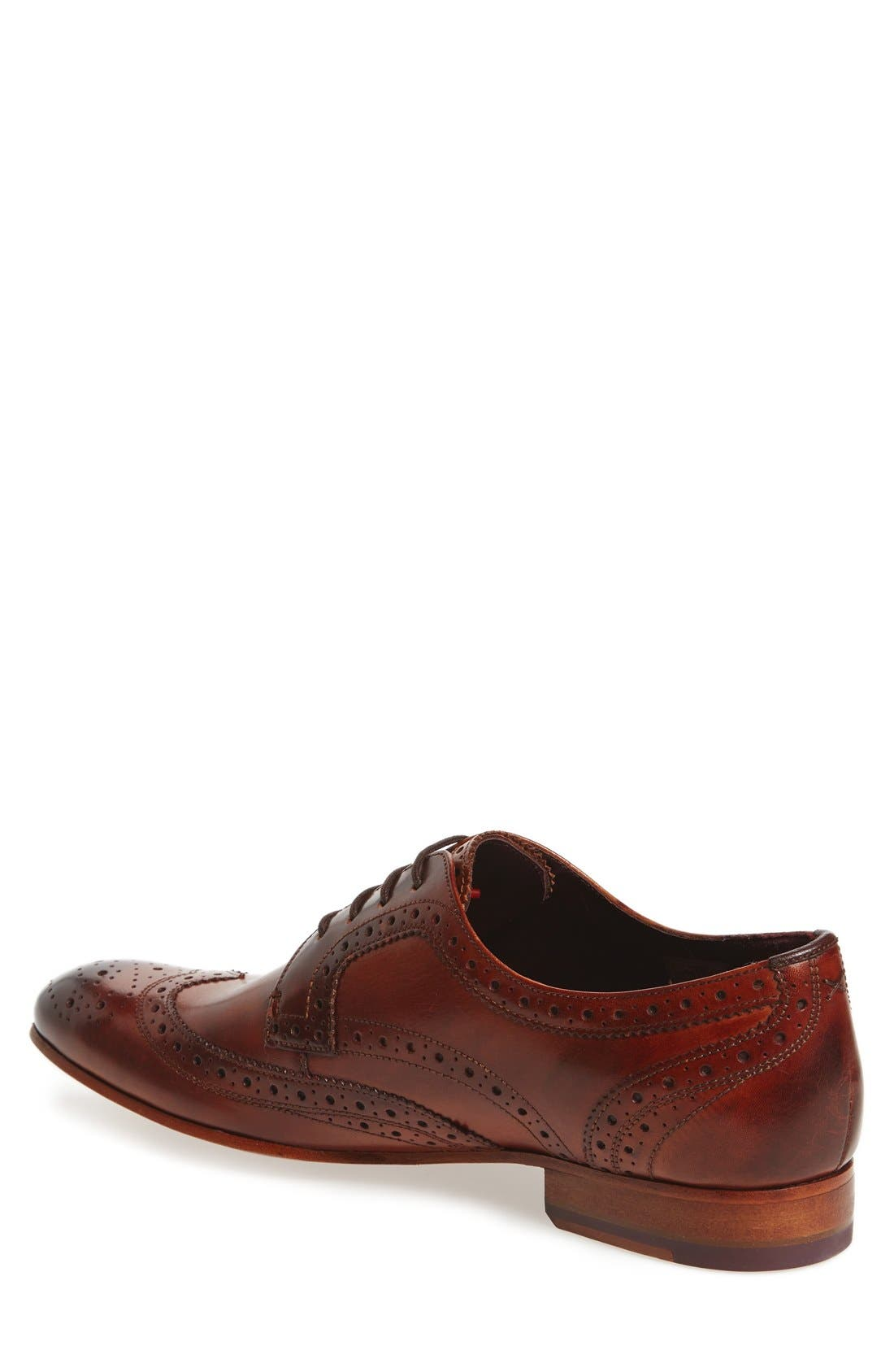 'Gryene' Wingtip Oxford,                             Alternate thumbnail 7, color,