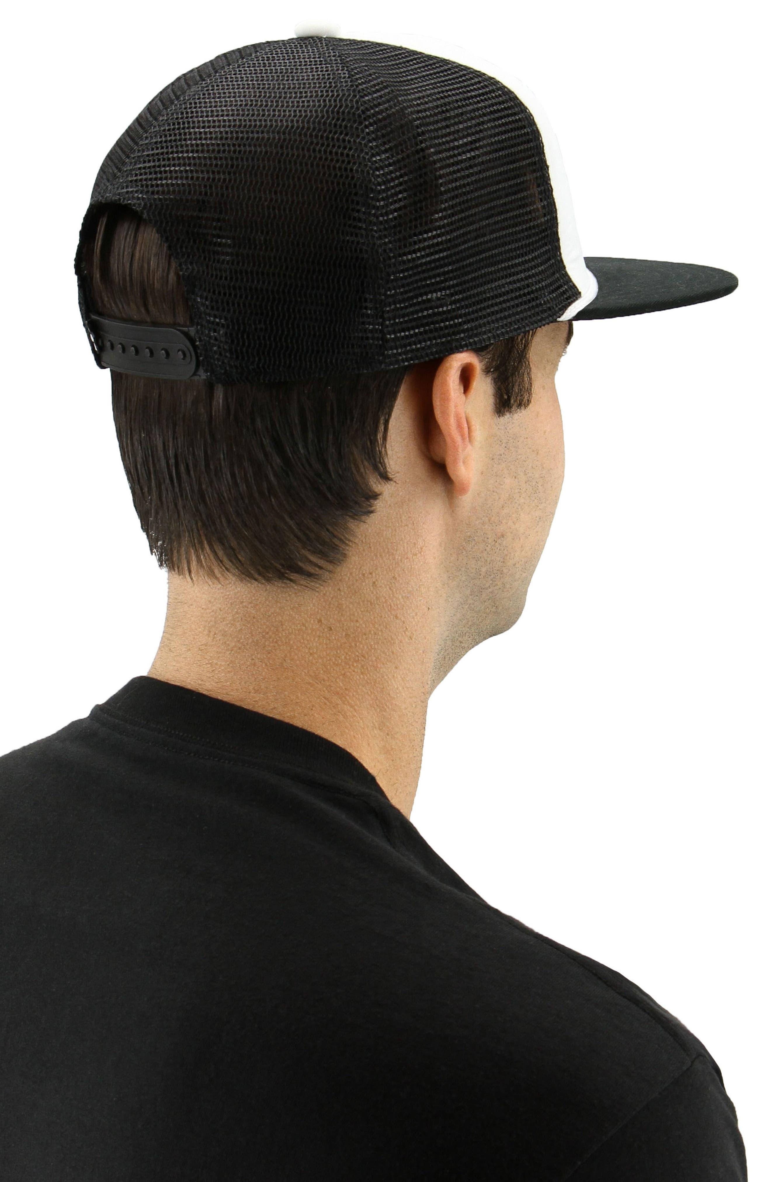 Trefoil Trucker Hat,                             Alternate thumbnail 4, color,