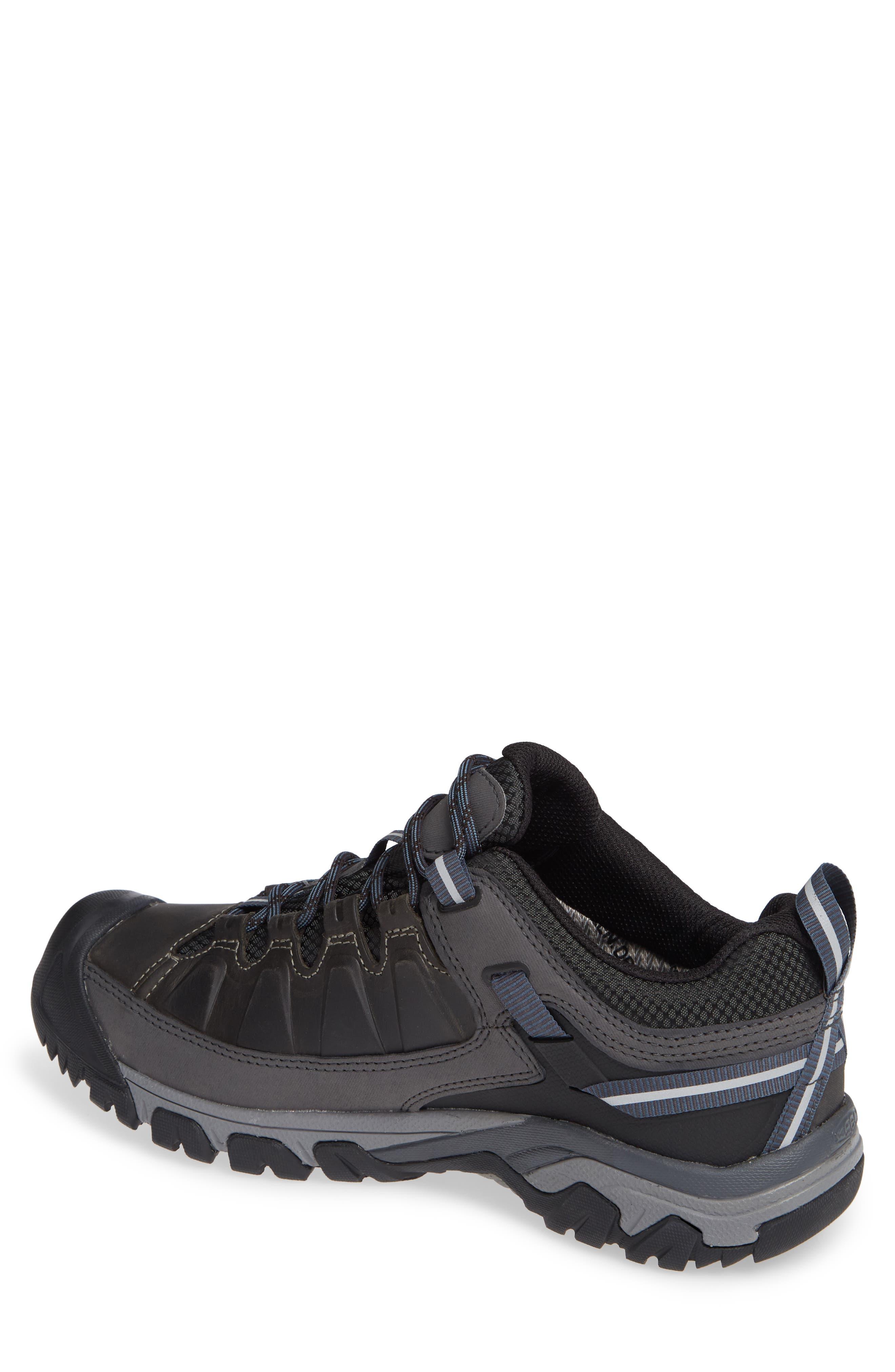 Targhee III Waterproof Hiking Shoe,                             Alternate thumbnail 2, color,                             STEEL GREY/ CAPTAINS BLUE