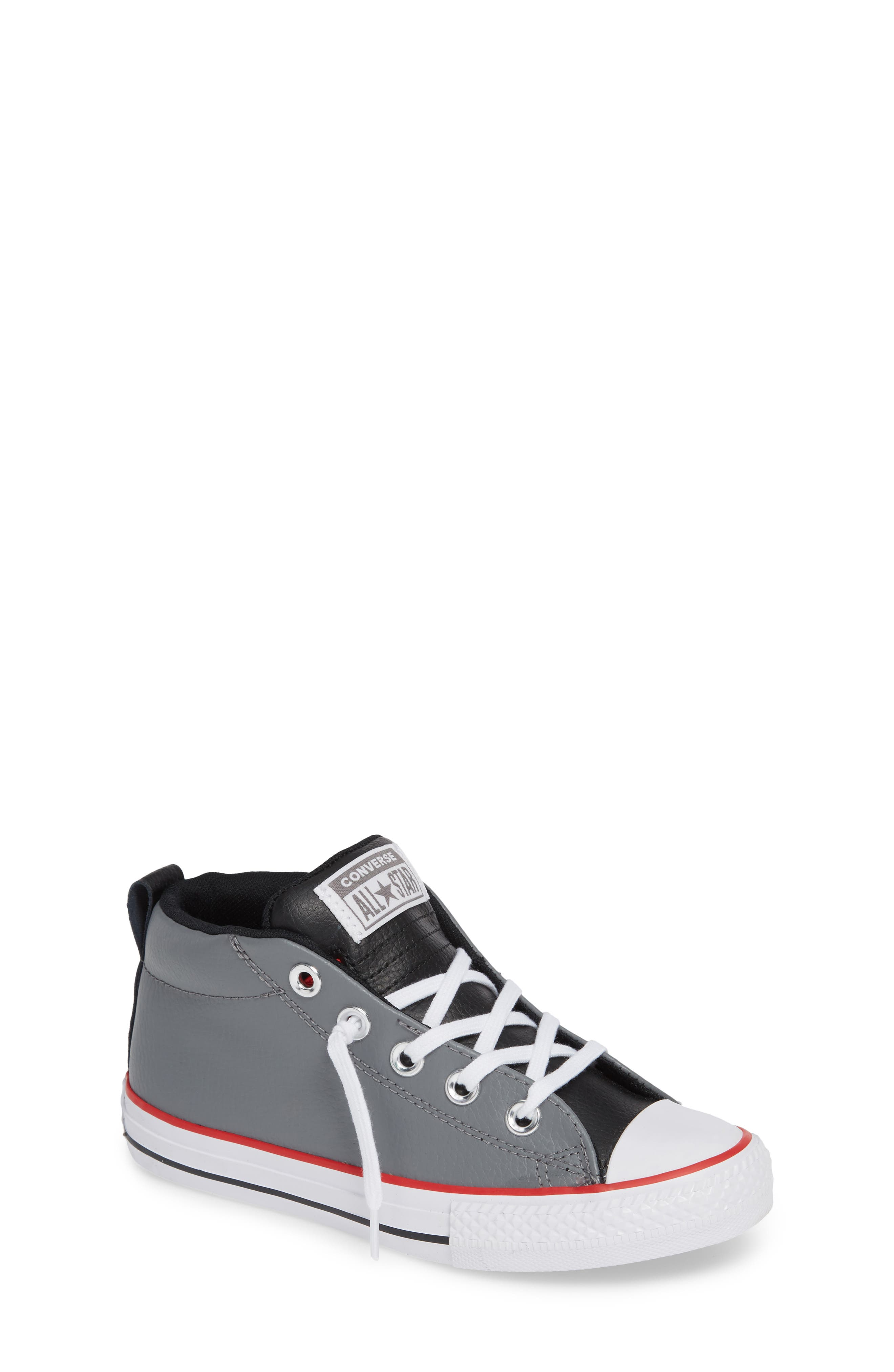 Collegiate Street Mid Sneaker,                             Main thumbnail 1, color,                             001